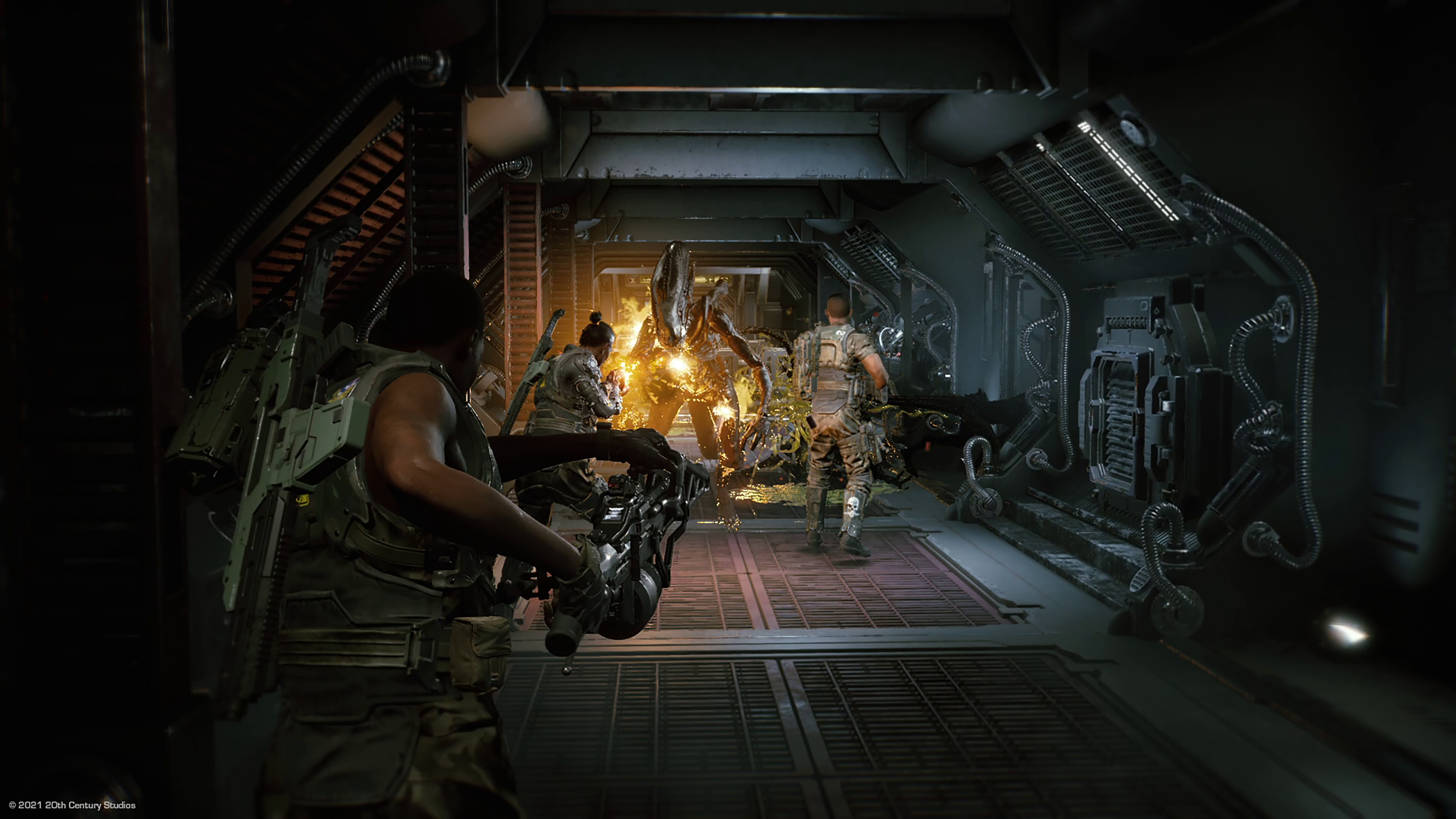 Скриншот №2 к Aliens Fireteam Elite - Deluxe Edition PS4 and PS5