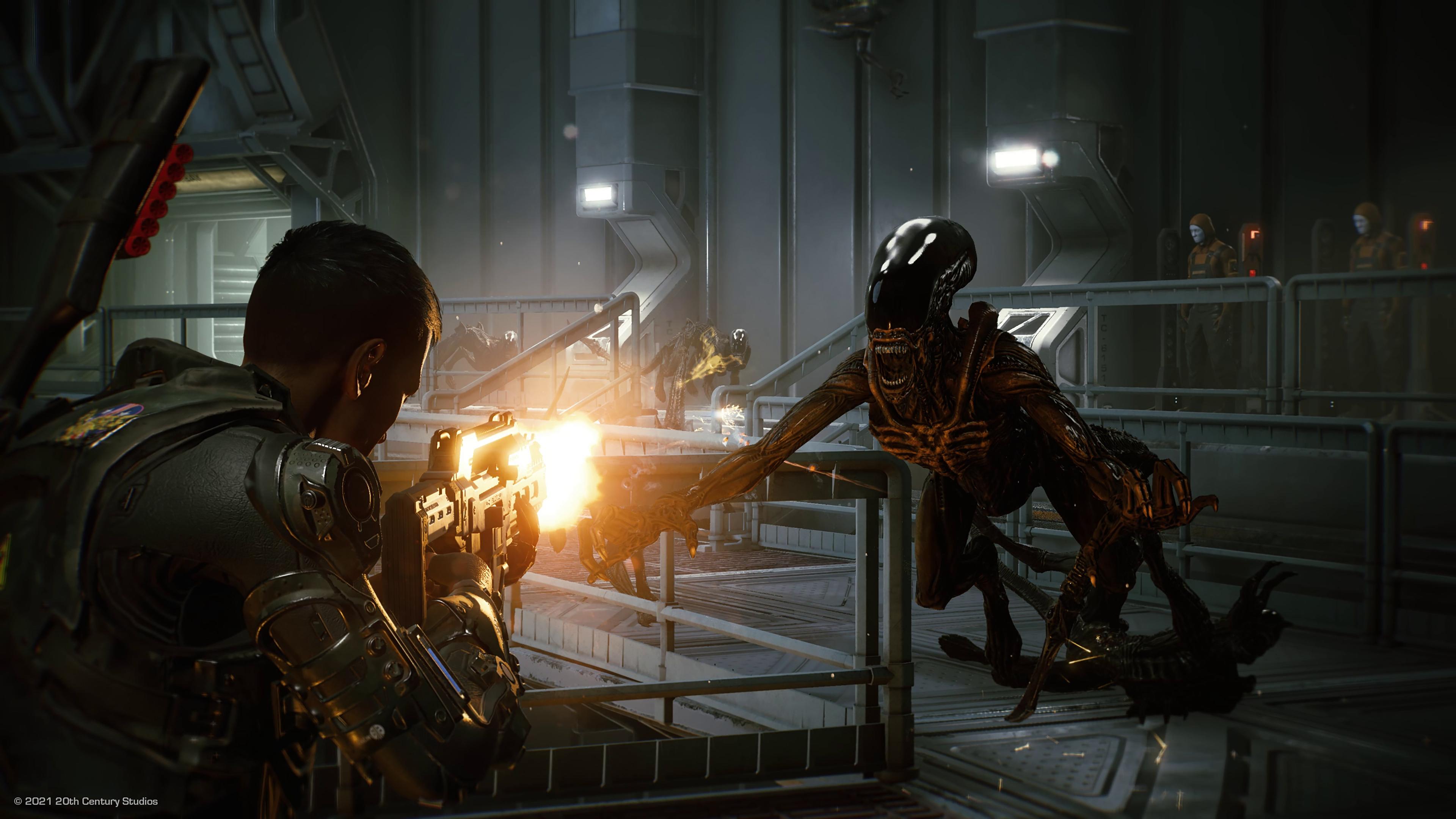 Скриншот №1 к Aliens Fireteam Elite - Deluxe Edition PS4 and PS5