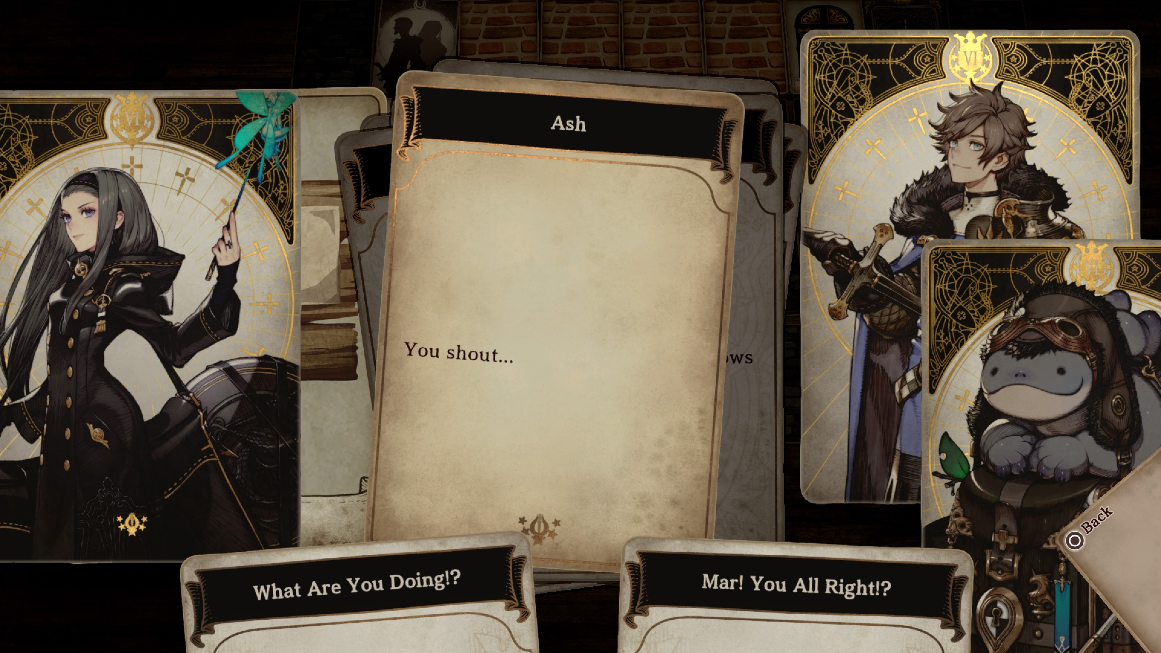 Скриншот №1 к Voice of Cards The Isle Dragon Roars