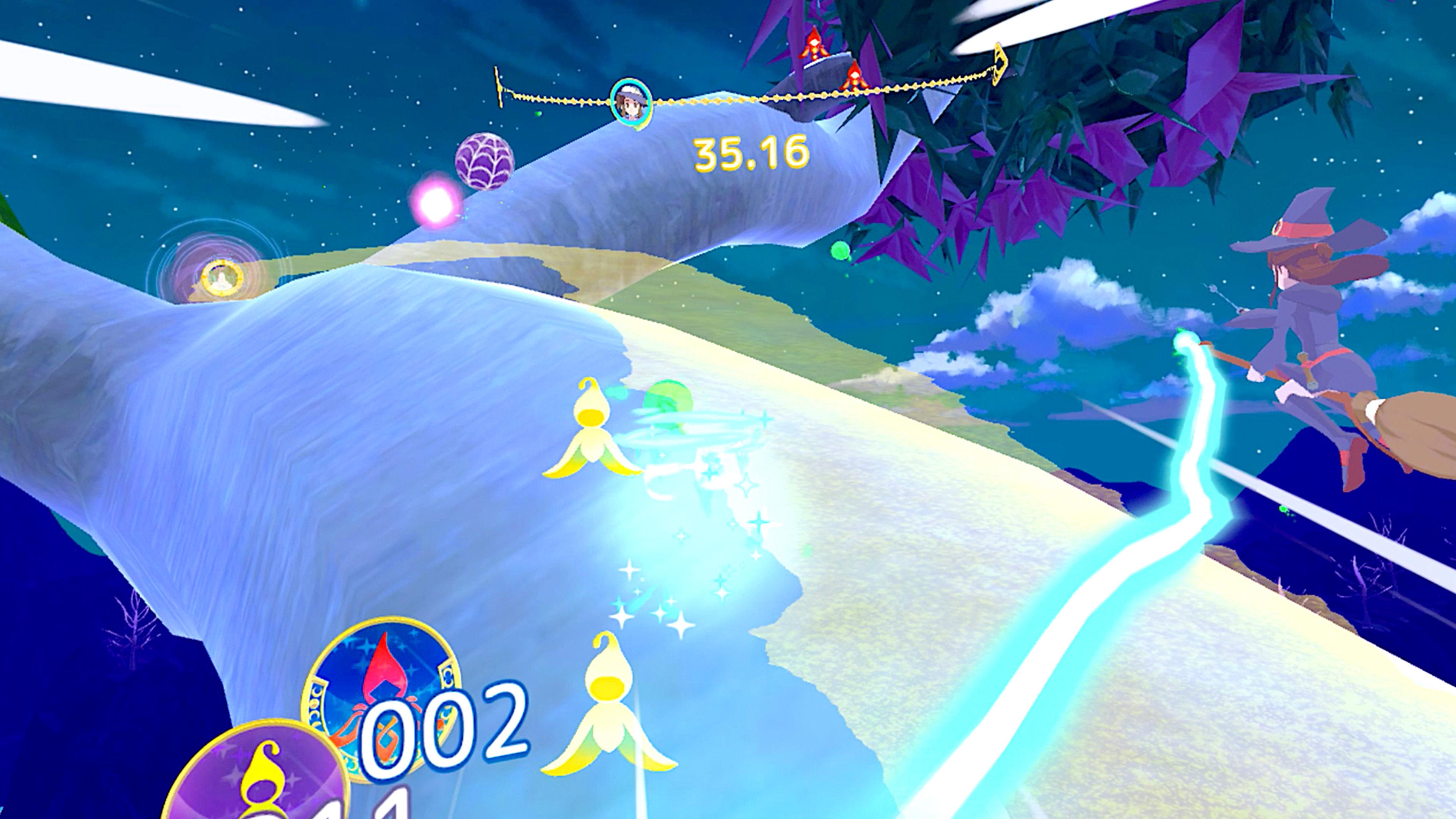 Скриншот №4 к Little Witch Academia VR Broom Racing