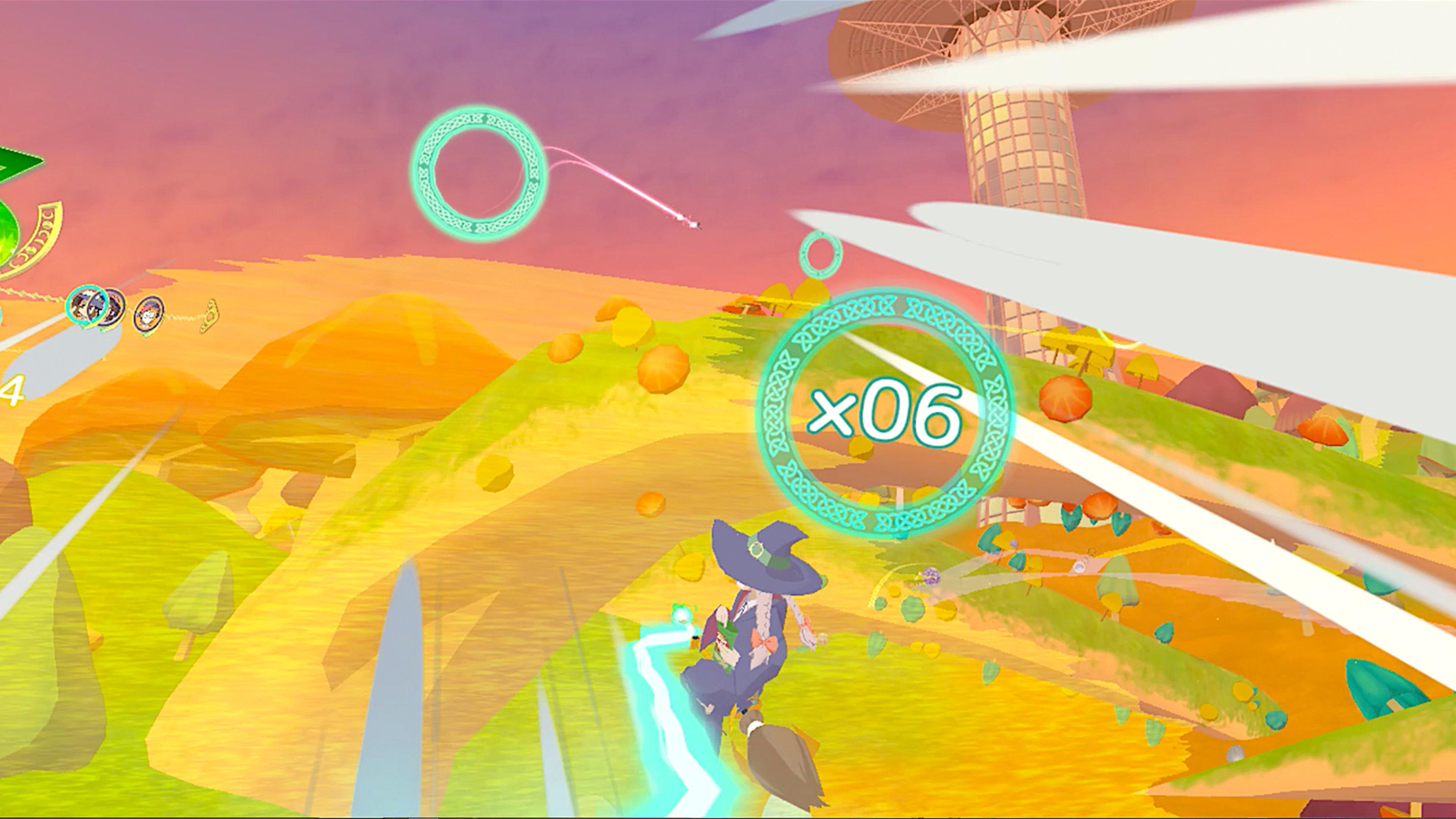 Скриншот №5 к Little Witch Academia VR Broom Racing