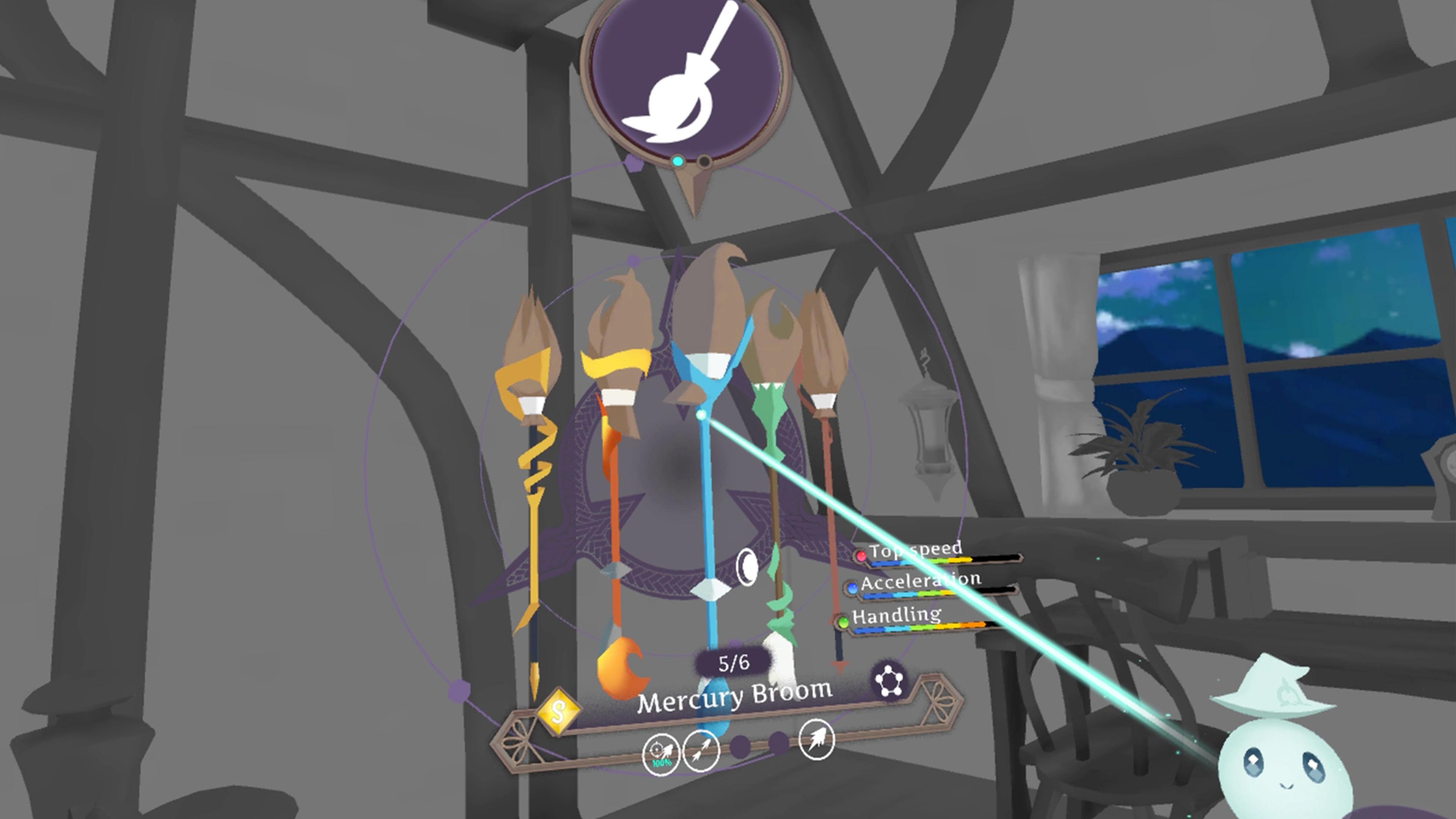 Скриншот №7 к Little Witch Academia VR Broom Racing