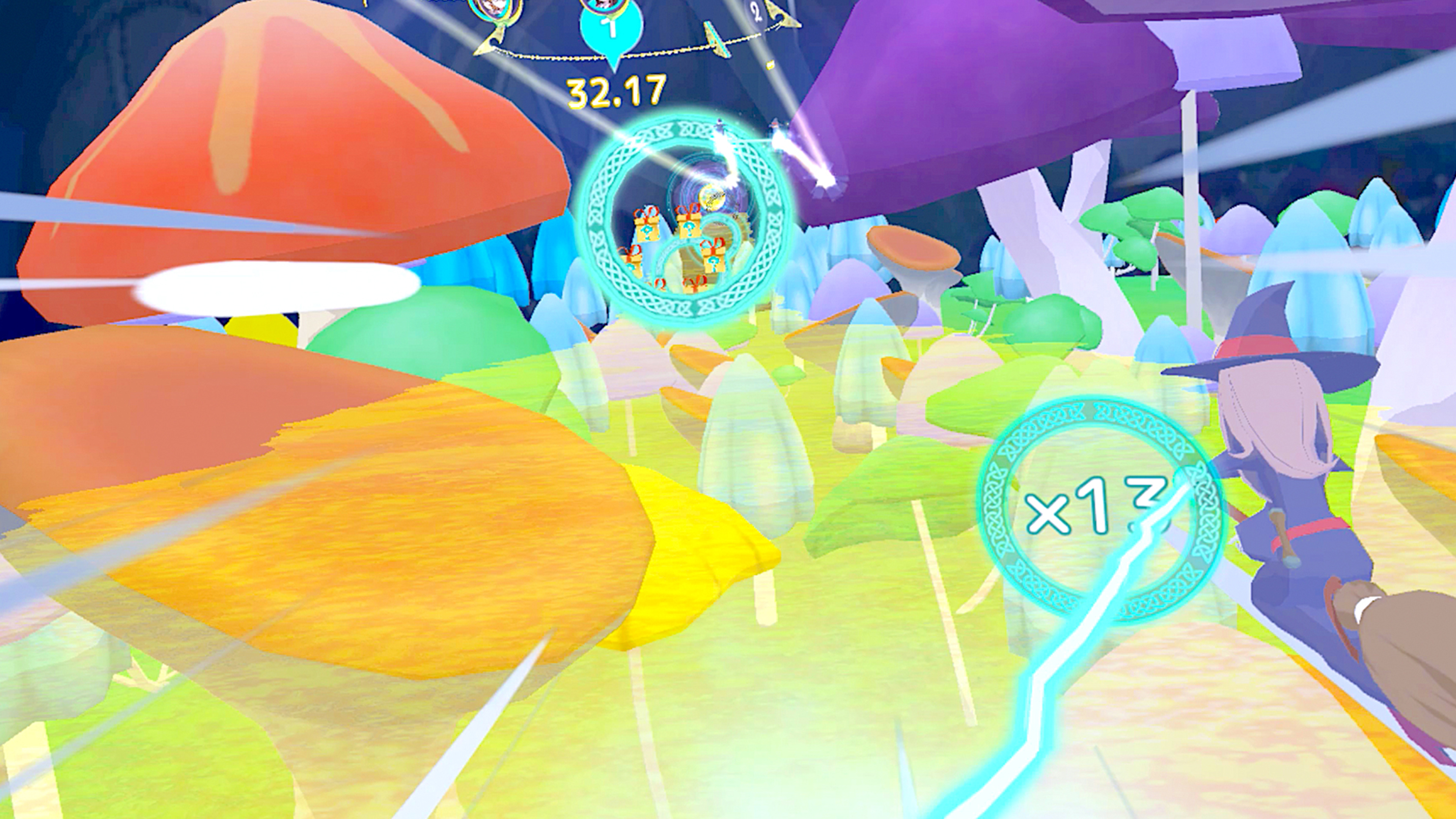 Скриншот №3 к Little Witch Academia VR Broom Racing