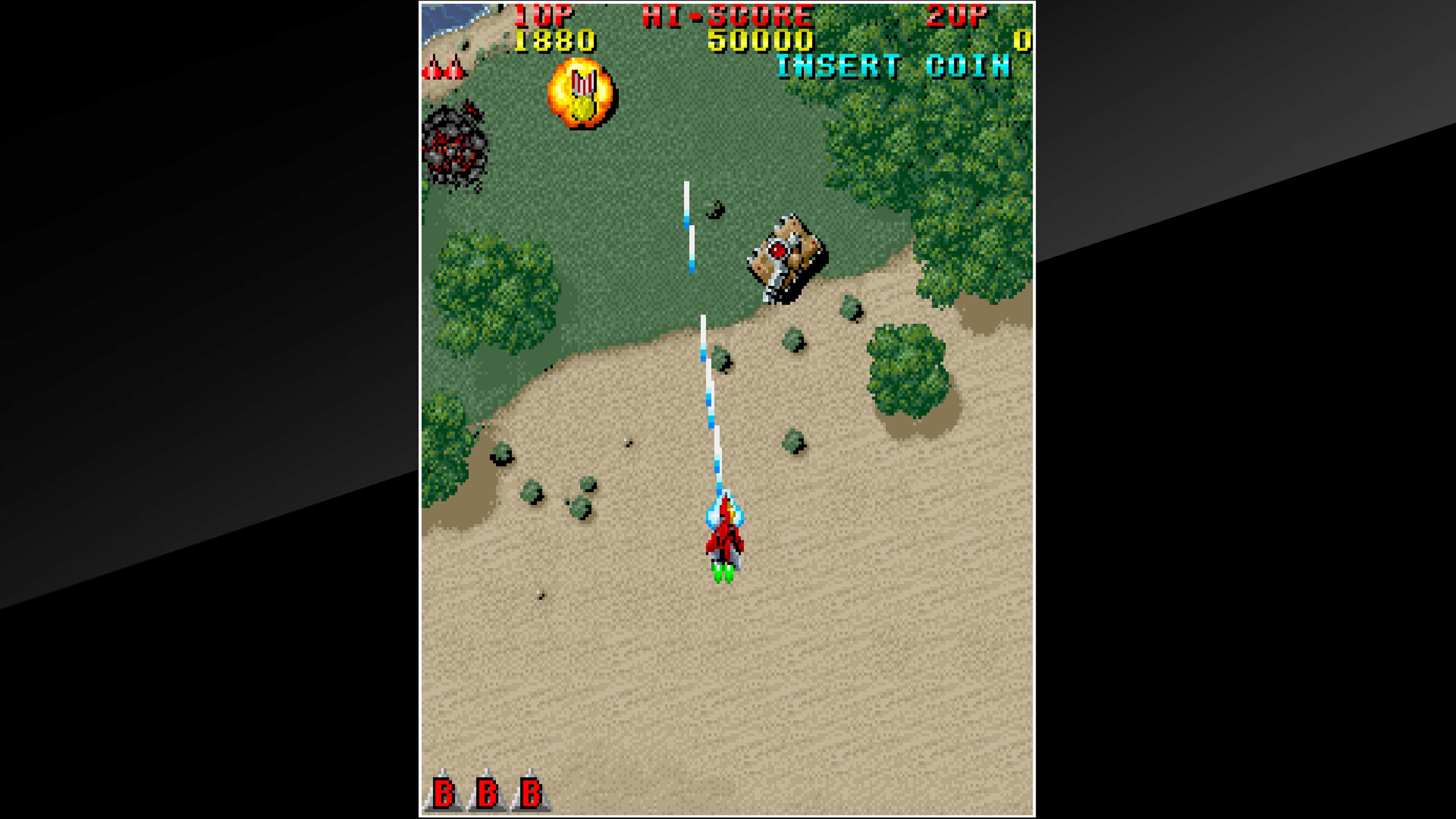 Скриншот №2 к Arcade Archives RAIDEN