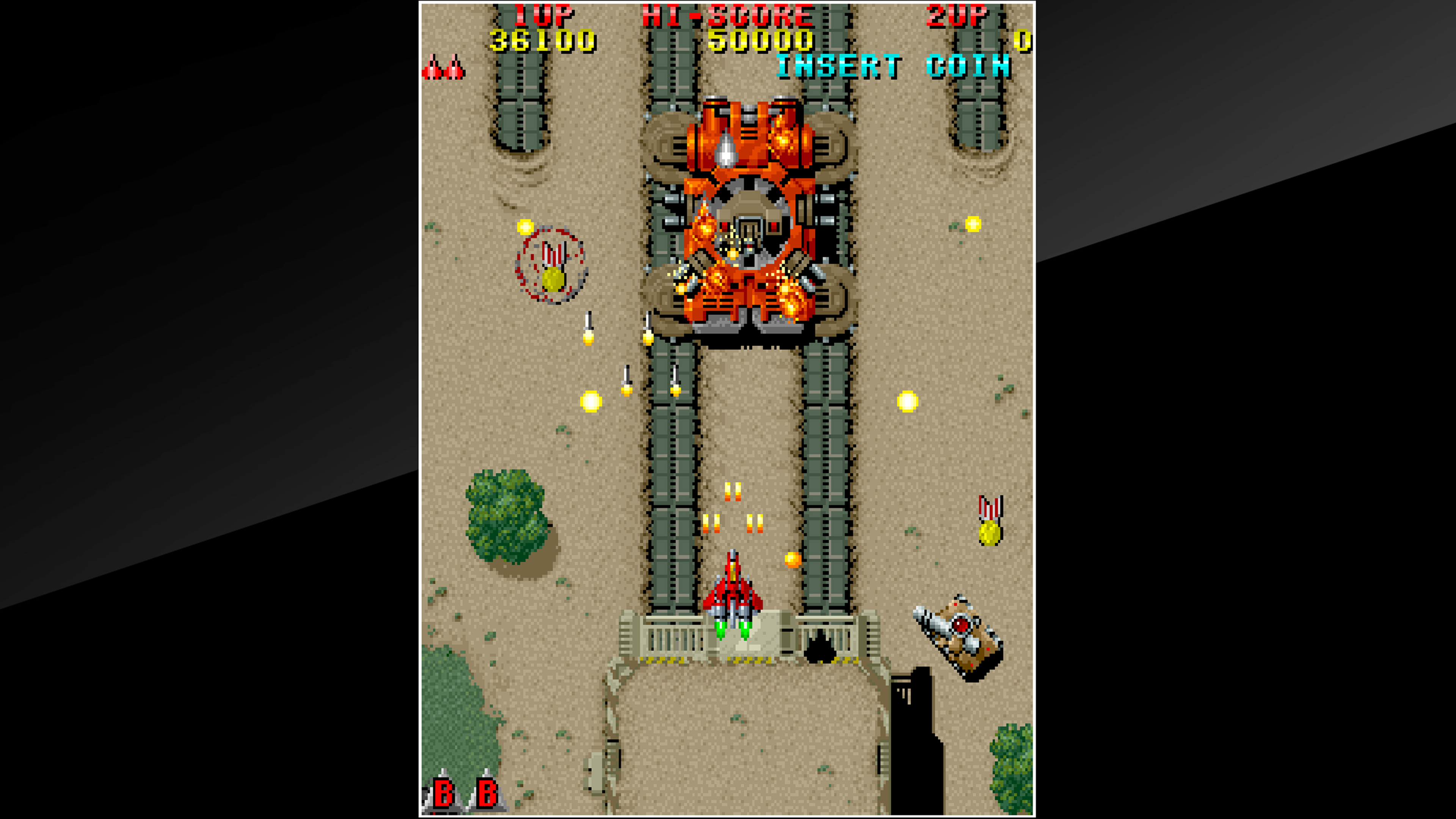 Скриншот №5 к Arcade Archives RAIDEN