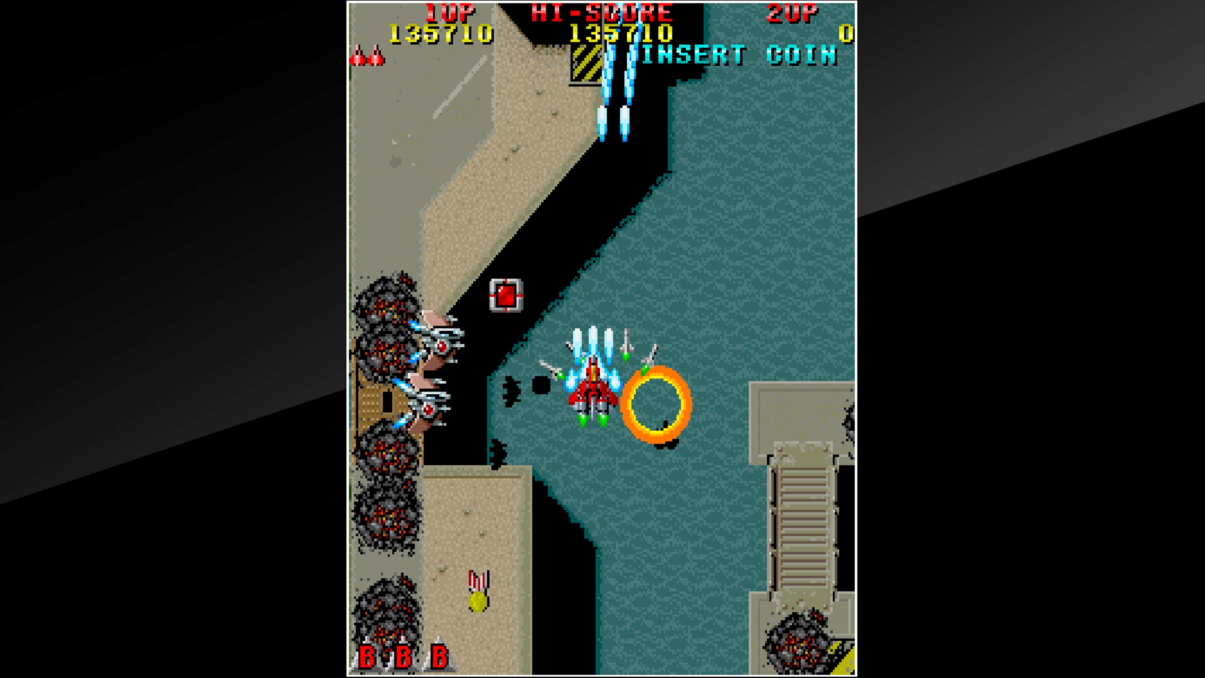 Скриншот №8 к Arcade Archives RAIDEN