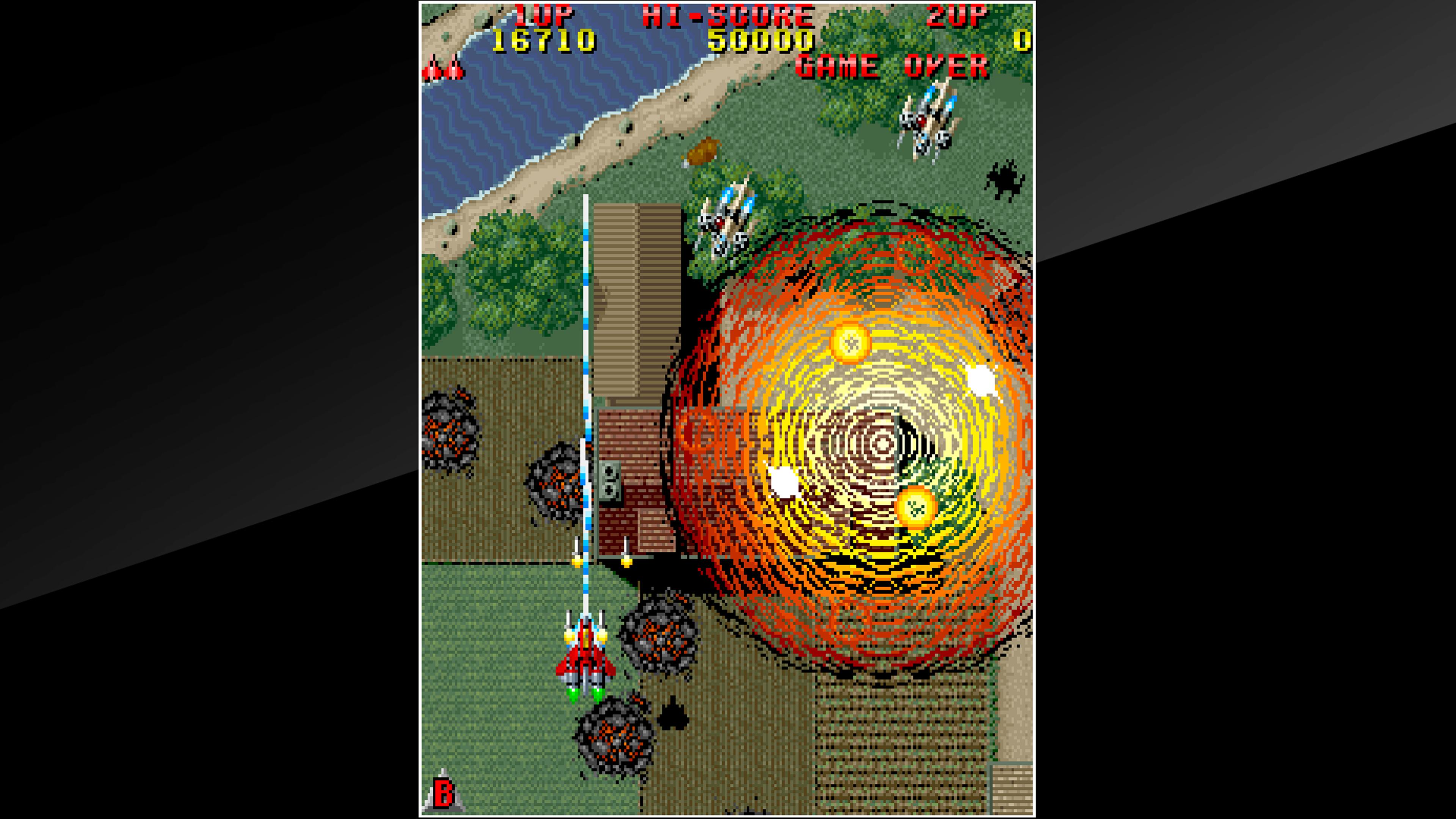 Скриншот №4 к Arcade Archives RAIDEN
