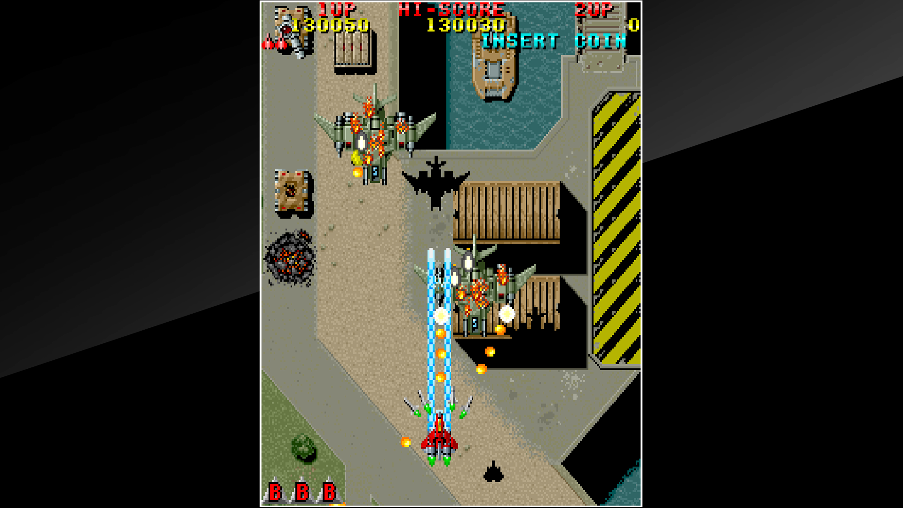 Скриншот №7 к Arcade Archives RAIDEN
