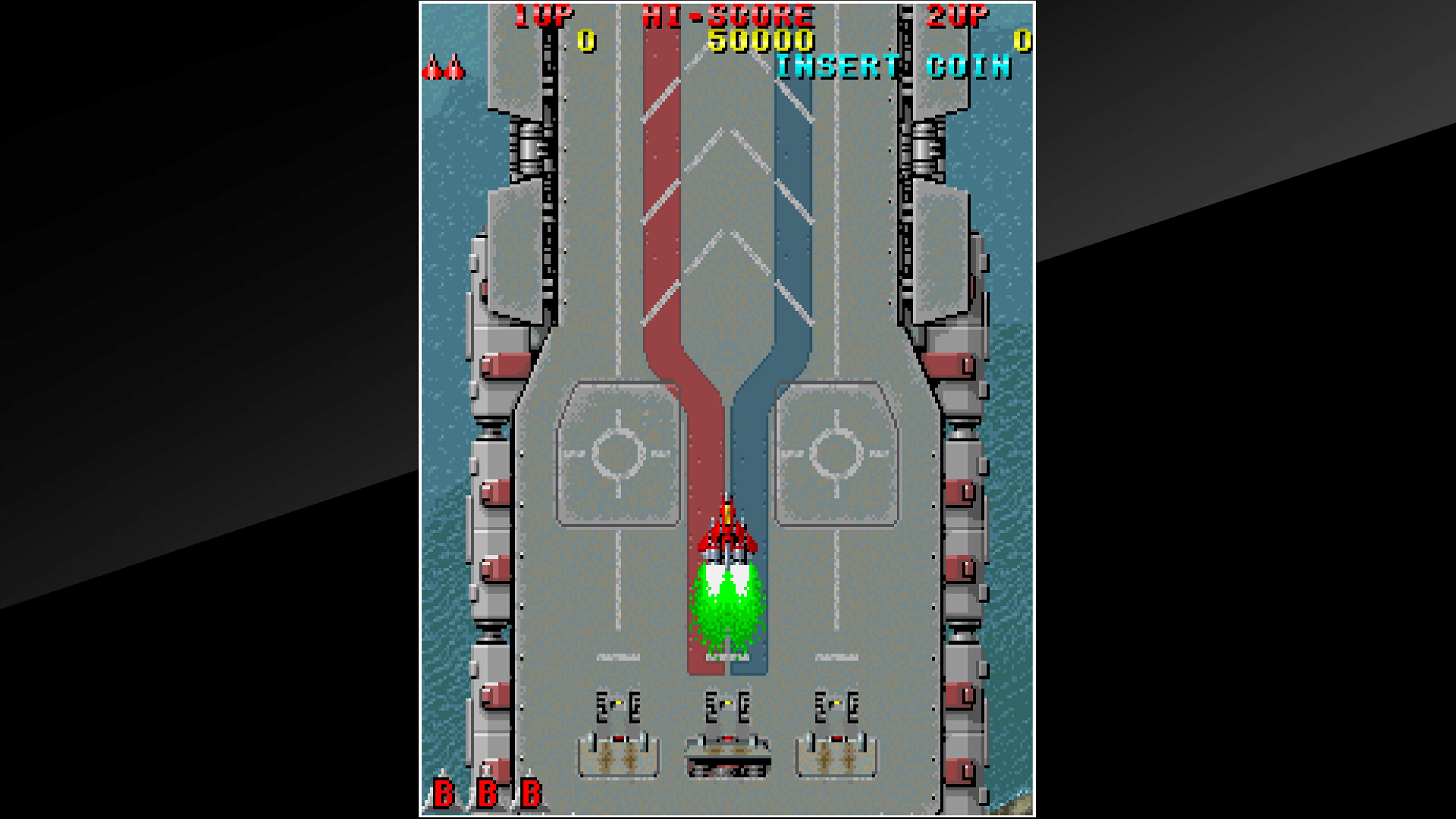 Скриншот №1 к Arcade Archives RAIDEN