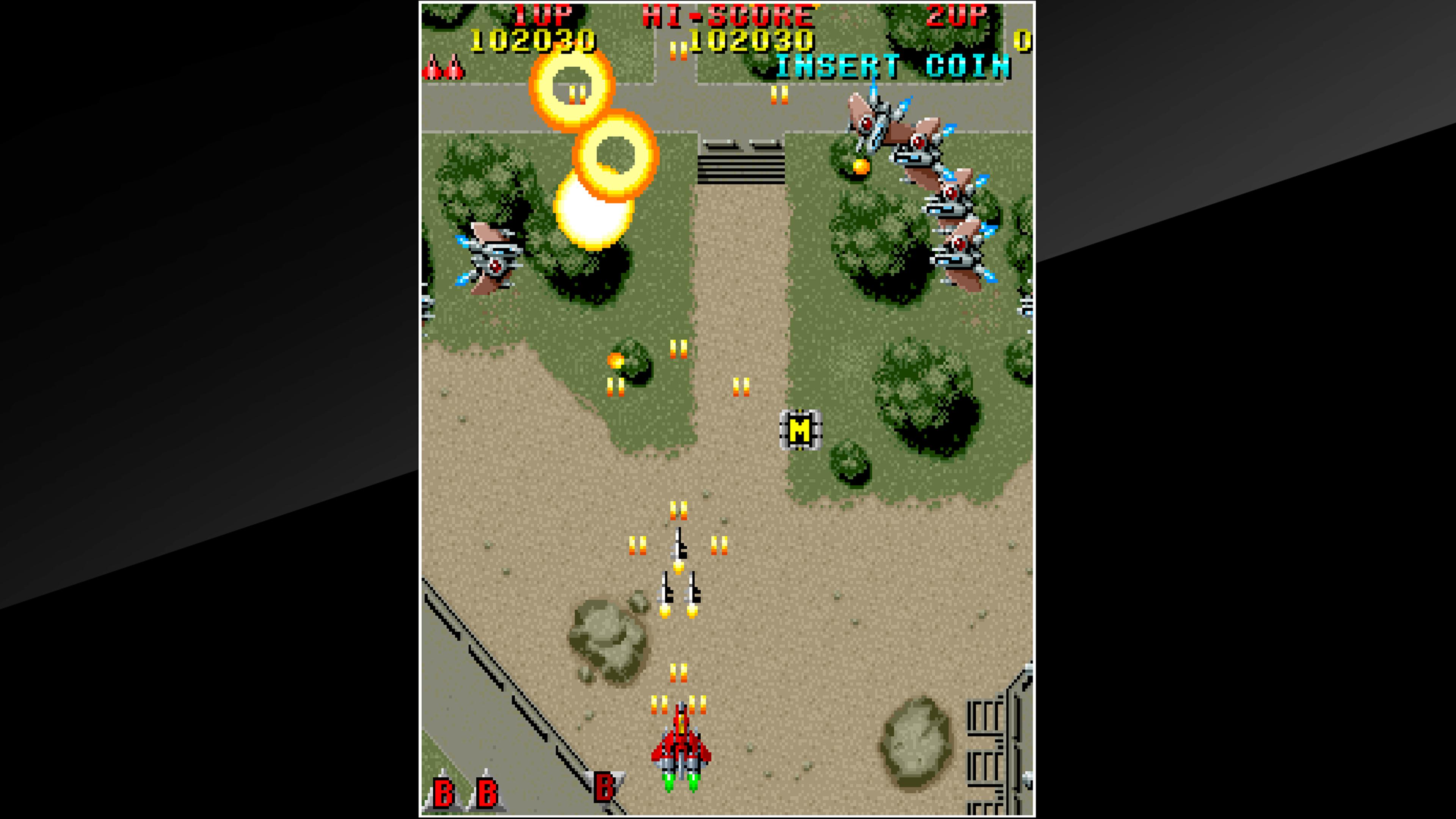 Скриншот №6 к Arcade Archives RAIDEN