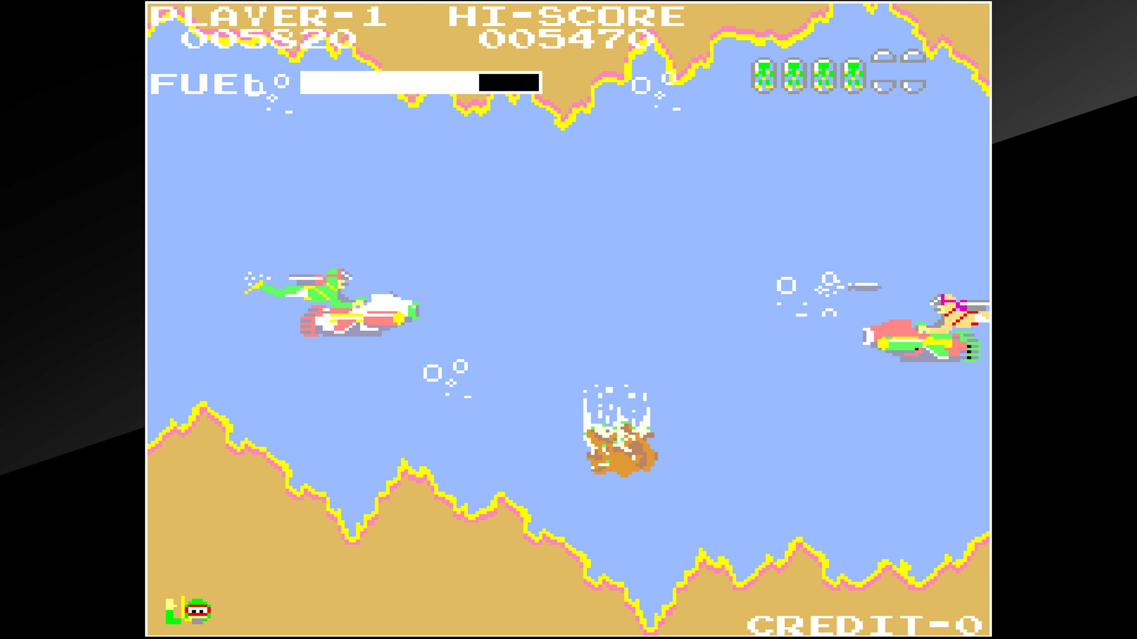 Скриншот №4 к Arcade Archives SEA FIGHTER POSEIDON