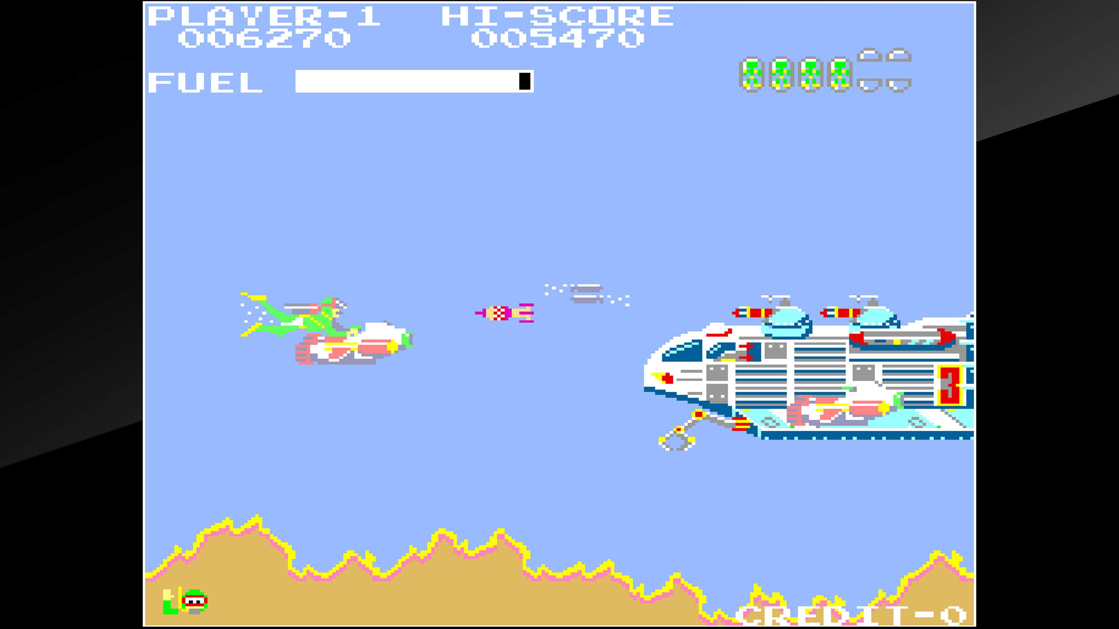 Скриншот №6 к Arcade Archives SEA FIGHTER POSEIDON