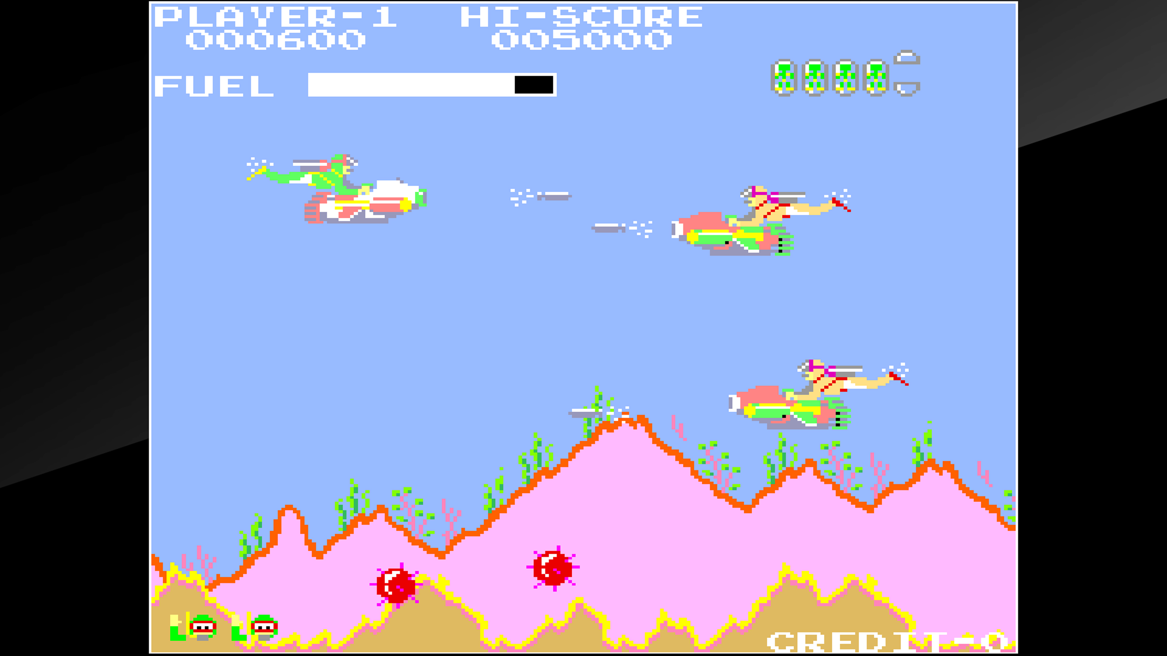 Скриншот №3 к Arcade Archives SEA FIGHTER POSEIDON