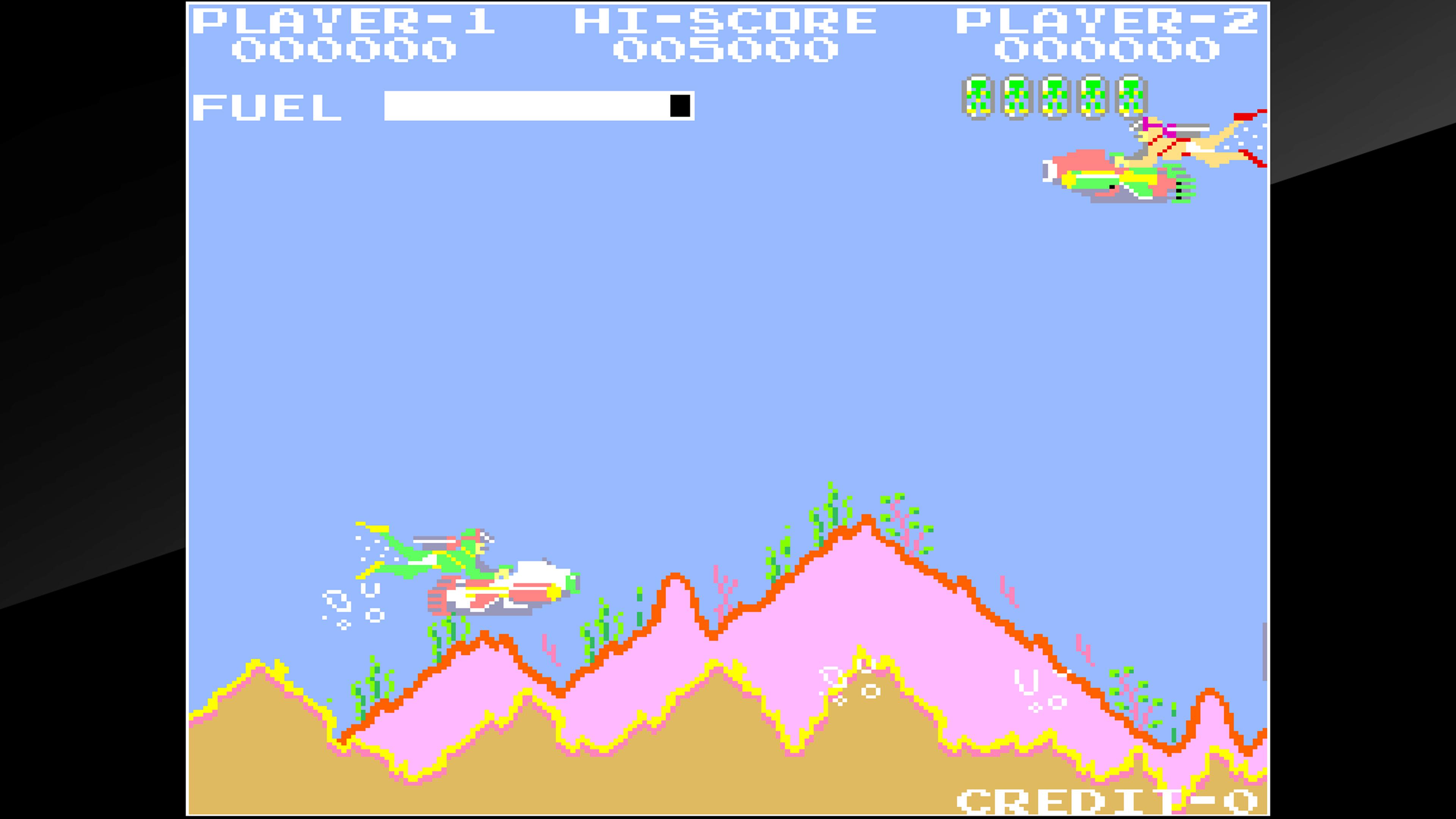 Скриншот №1 к Arcade Archives SEA FIGHTER POSEIDON