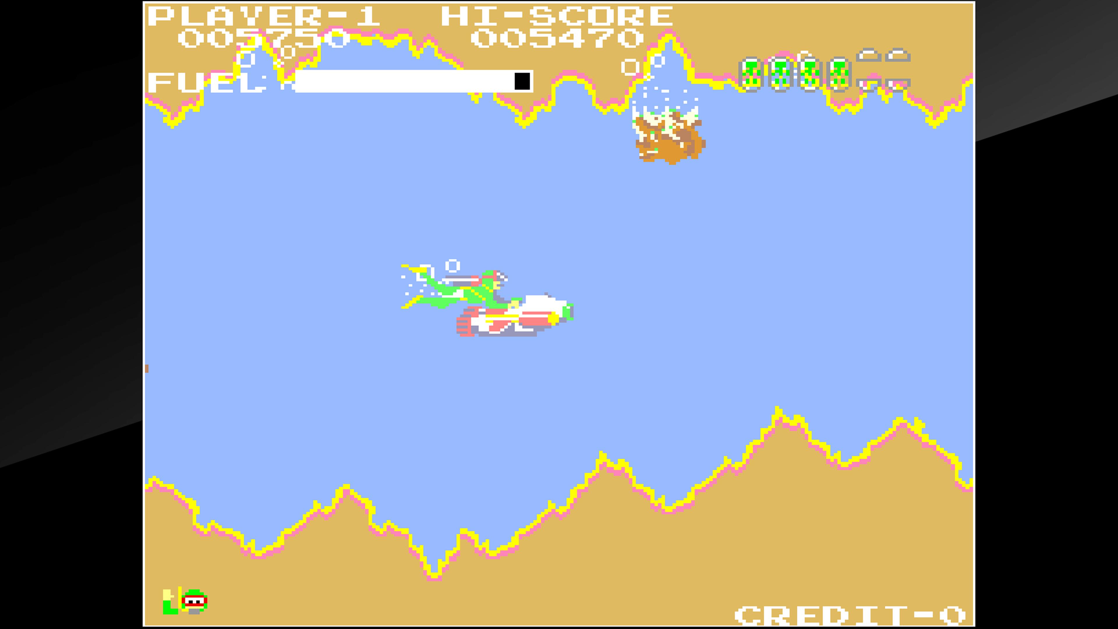 Скриншот №5 к Arcade Archives SEA FIGHTER POSEIDON