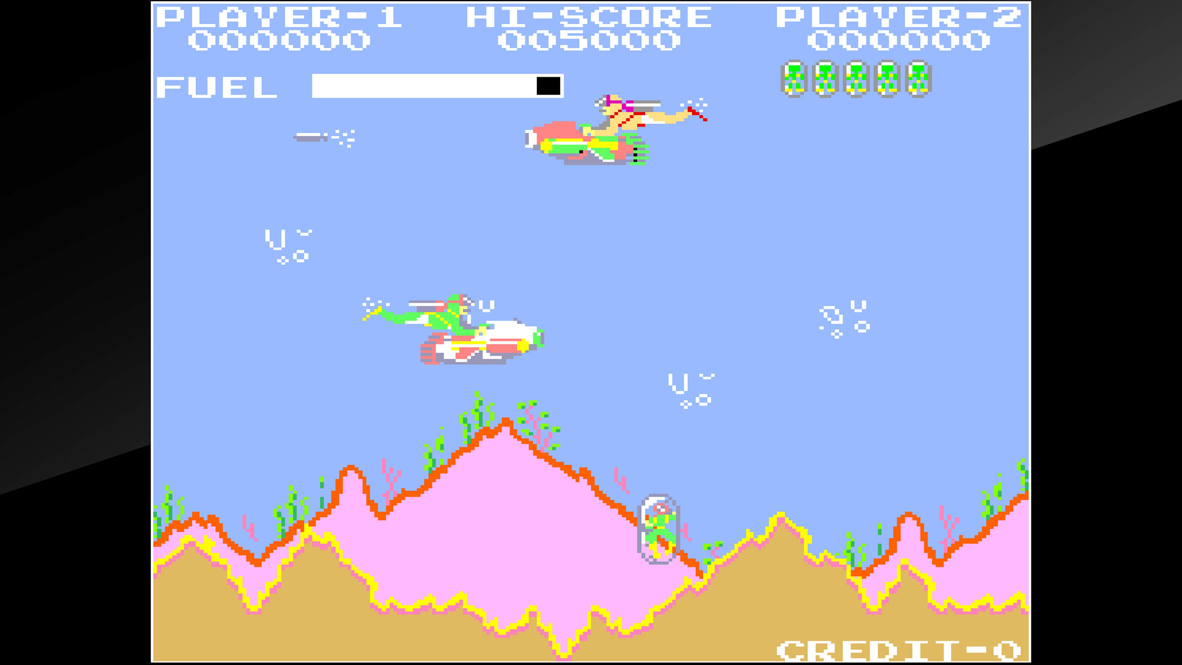 Скриншот №2 к Arcade Archives SEA FIGHTER POSEIDON