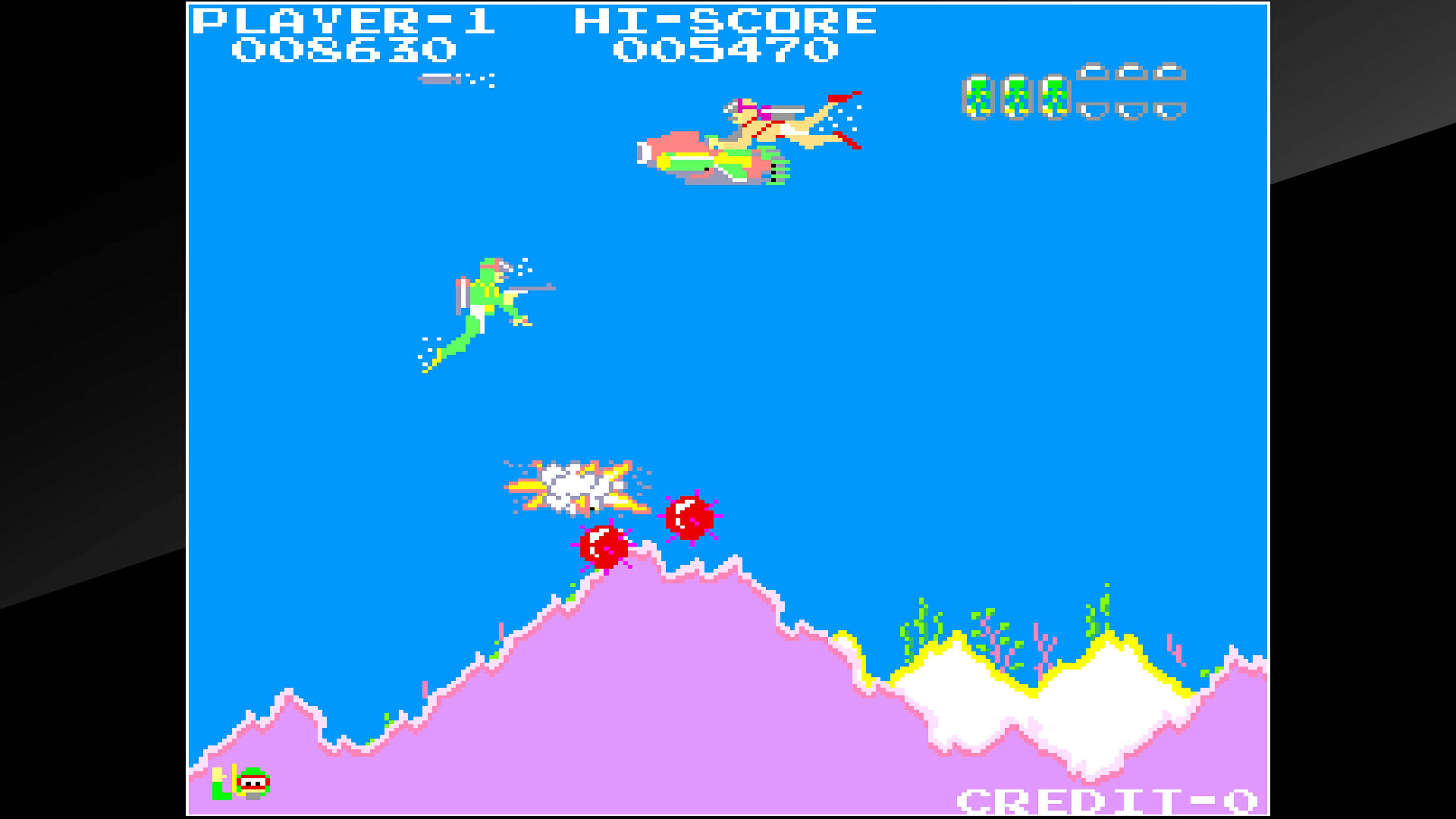Скриншот №7 к Arcade Archives SEA FIGHTER POSEIDON