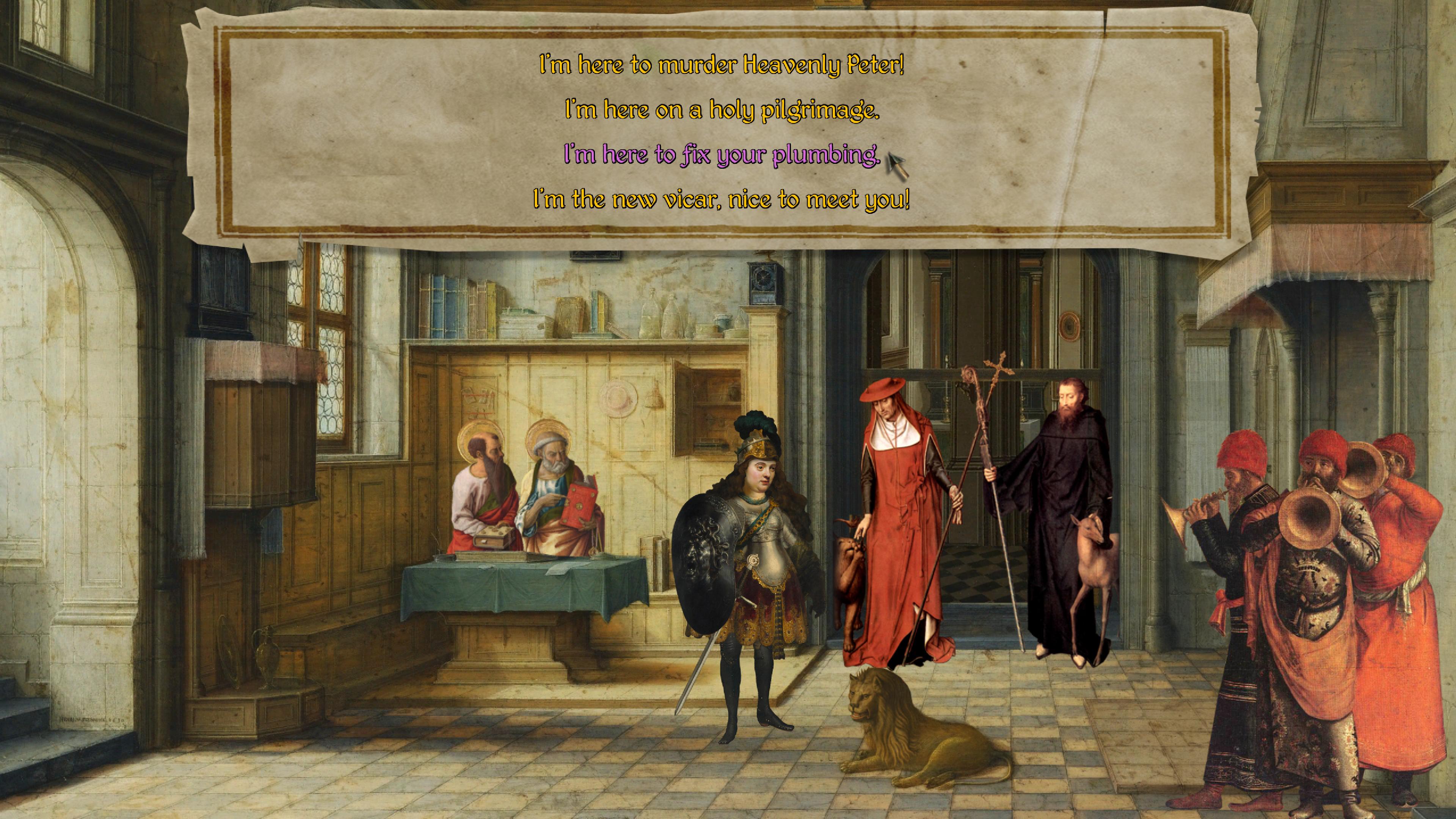 Скриншот №2 к The Procession to Calvary