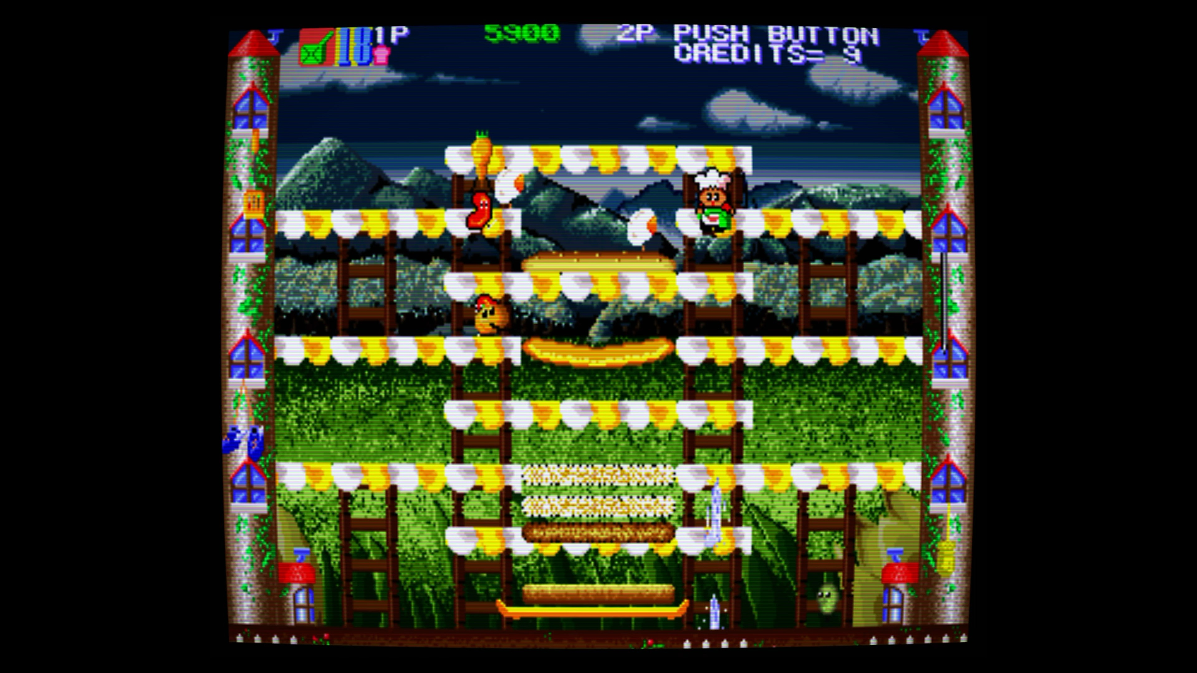 Скриншот №4 к Super BurgerTime