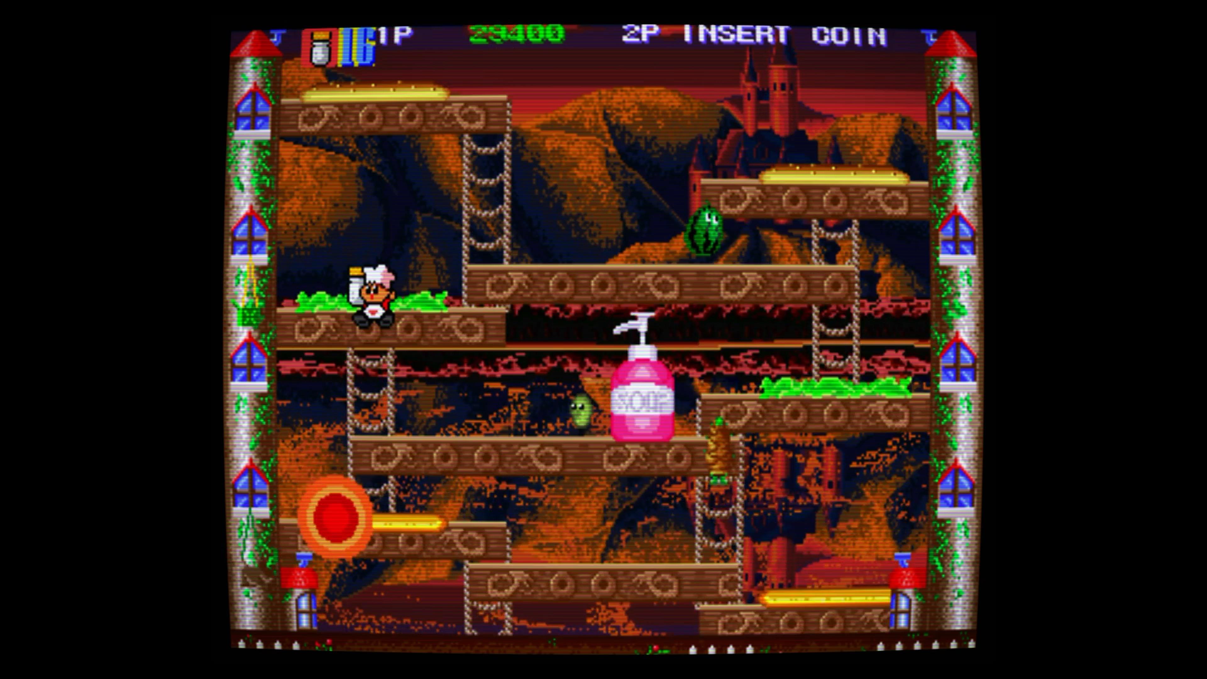 Скриншот №5 к Super BurgerTime