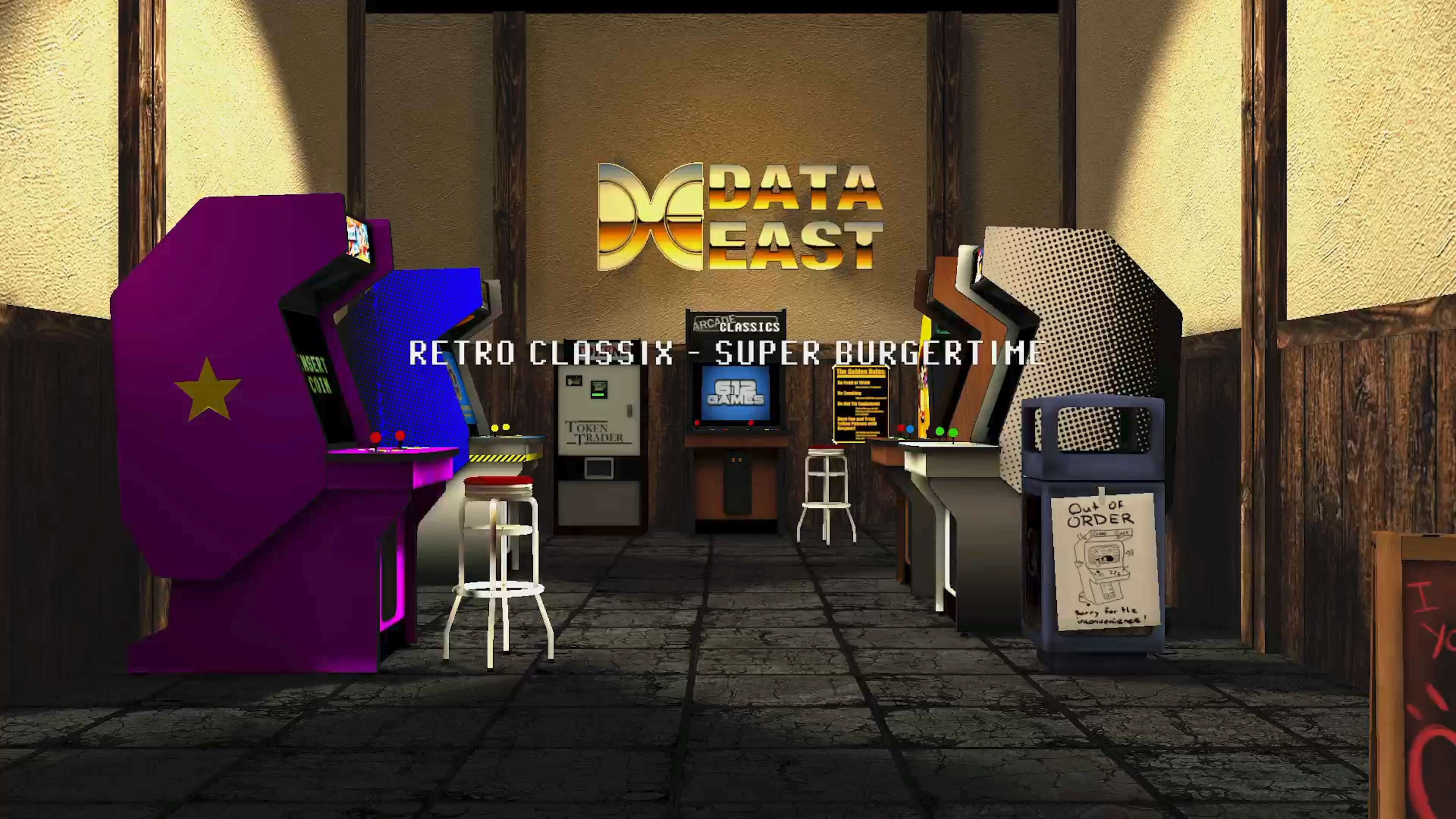 Скриншот №1 к Super BurgerTime
