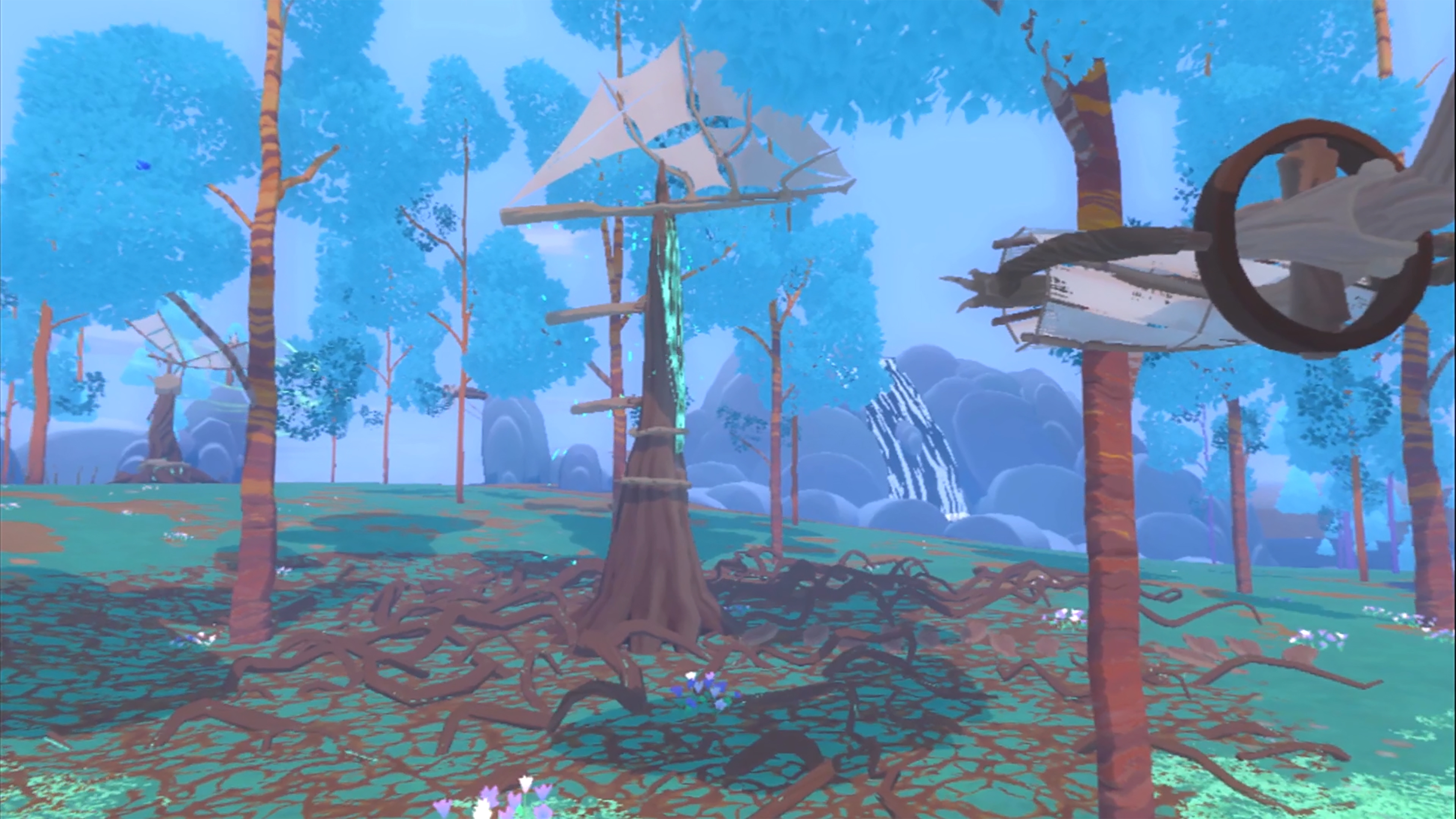 Скриншот №1 к Winds and Leaves