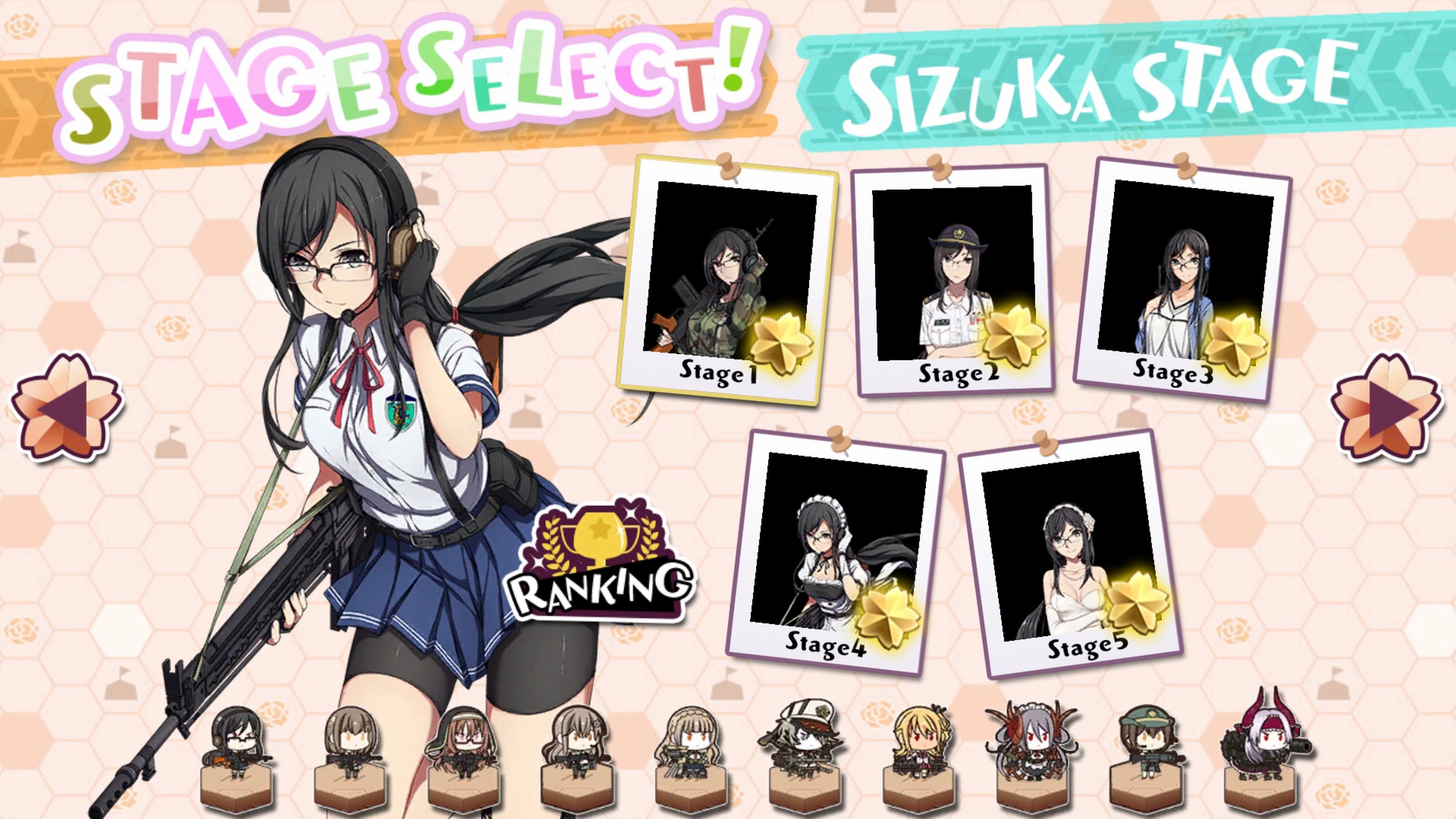 Скриншот №6 к Bishoujo Battle Mahjong Solitaire PS4 and PS5