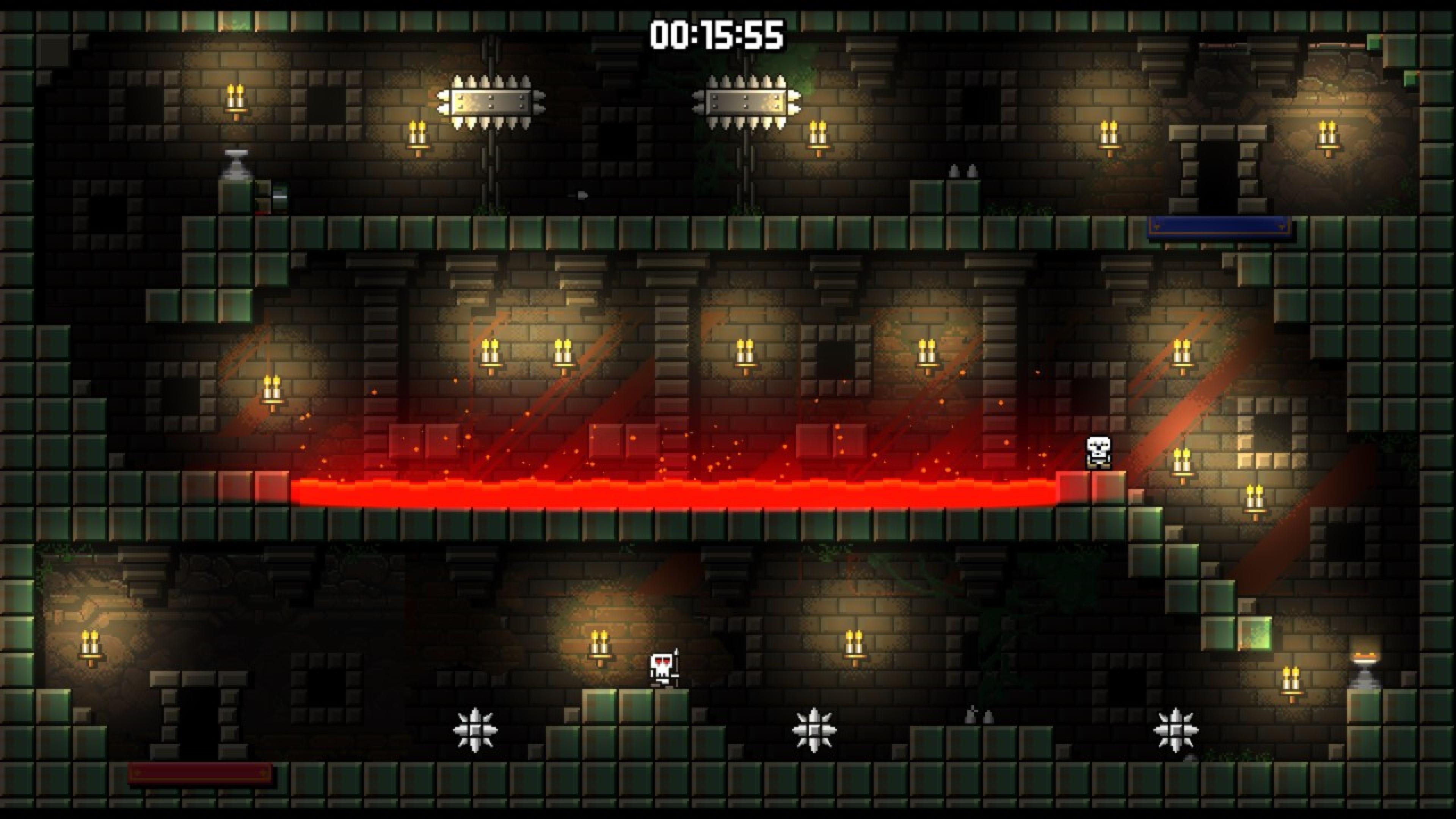 Скриншот №3 к Castle Of Pixel Skulls