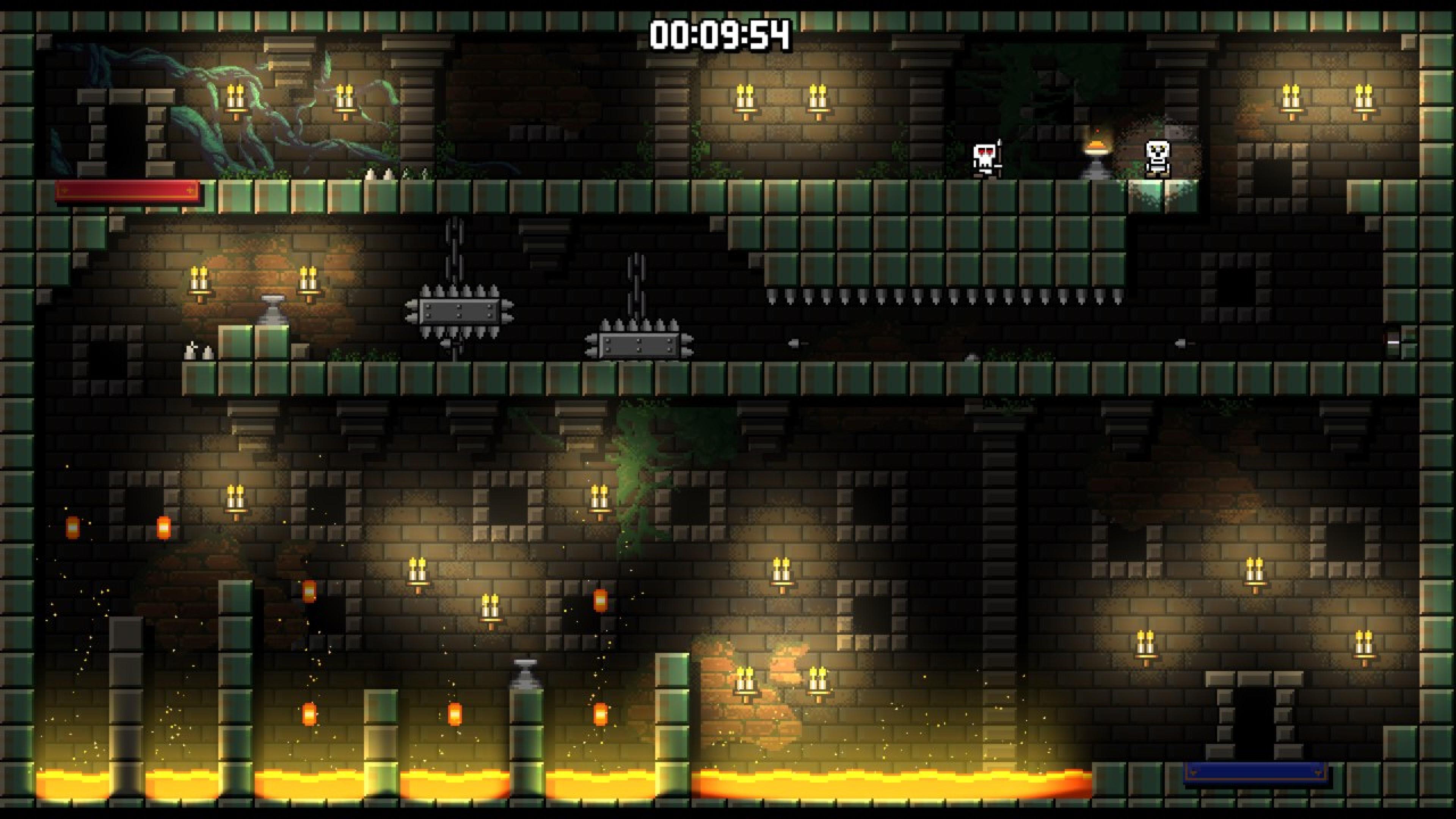 Скриншот №1 к Castle Of Pixel Skulls