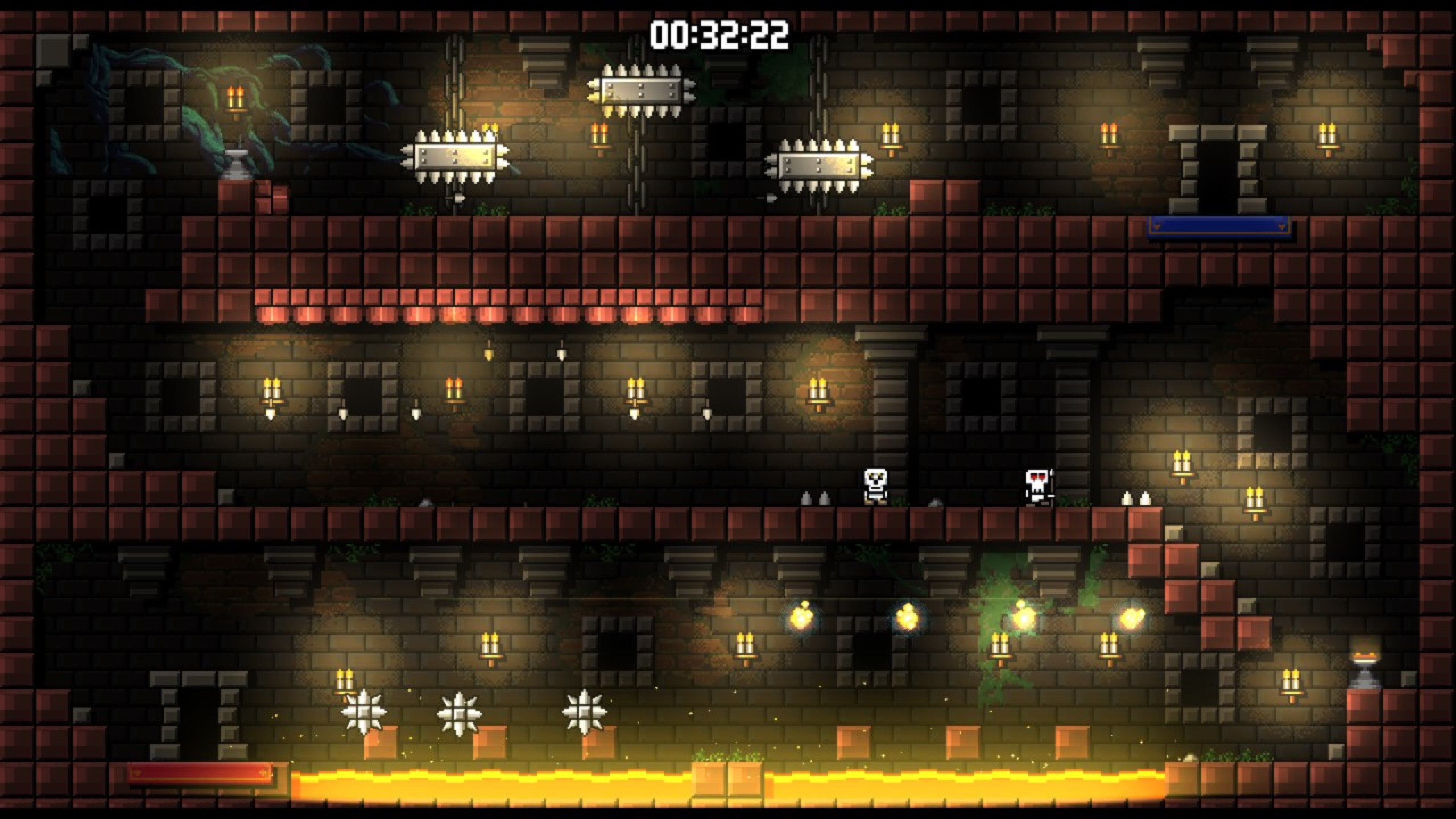 Скриншот №4 к Castle Of Pixel Skulls