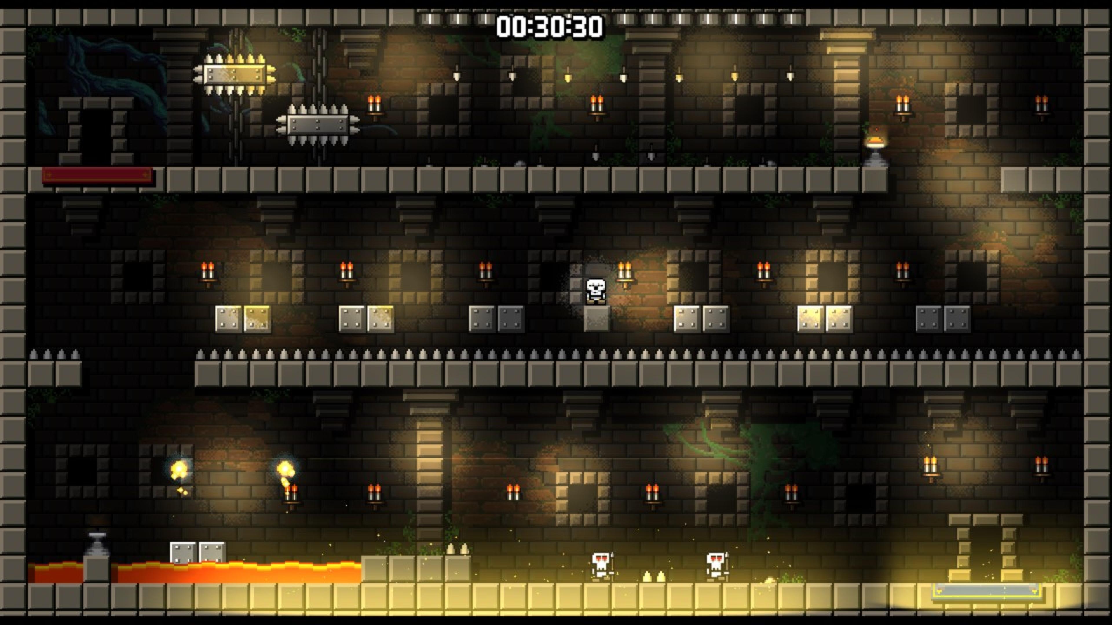 Скриншот №2 к Castle Of Pixel Skulls