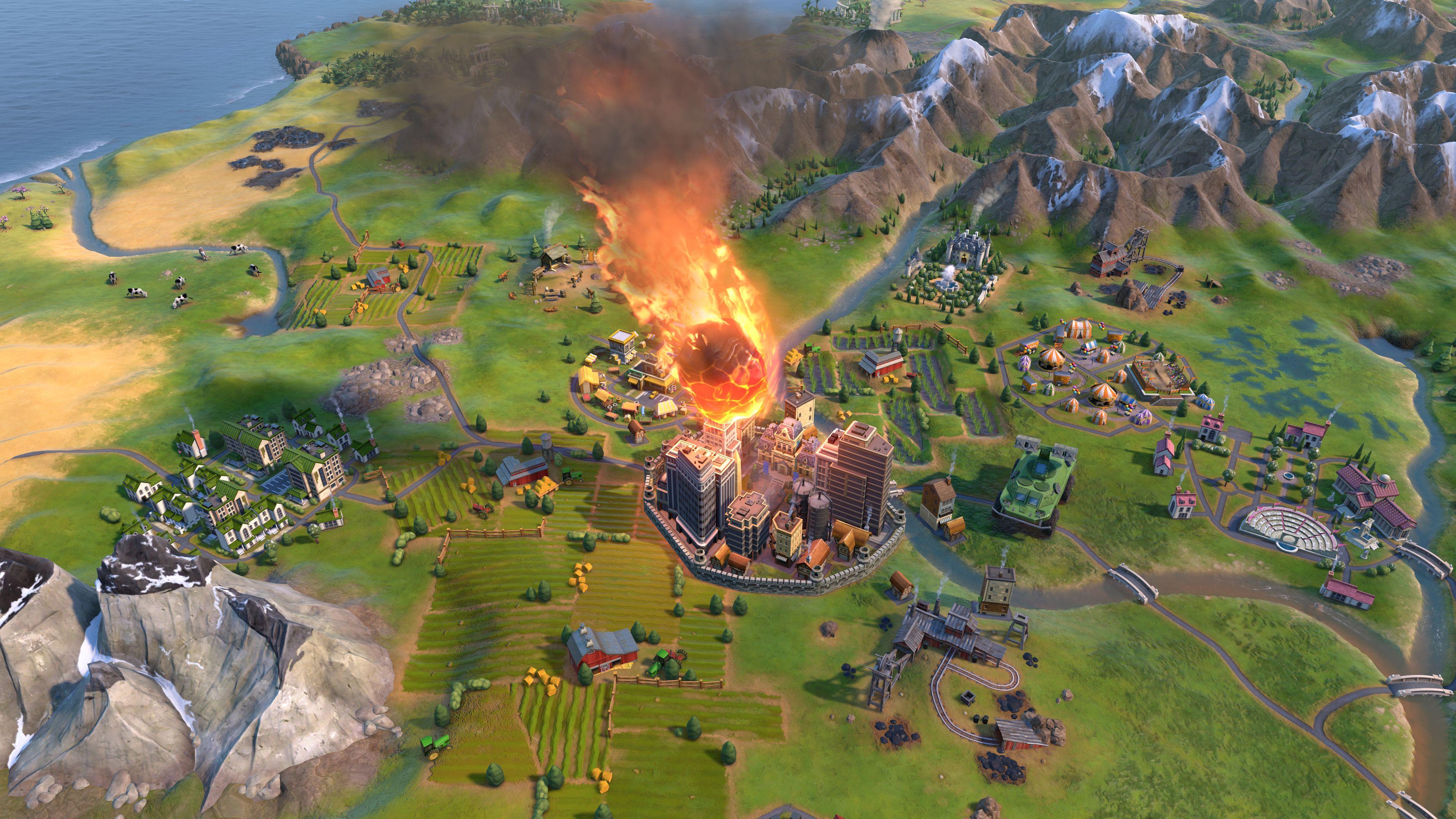 Скриншот №4 к Sid Meiers Civilization VI Anthology