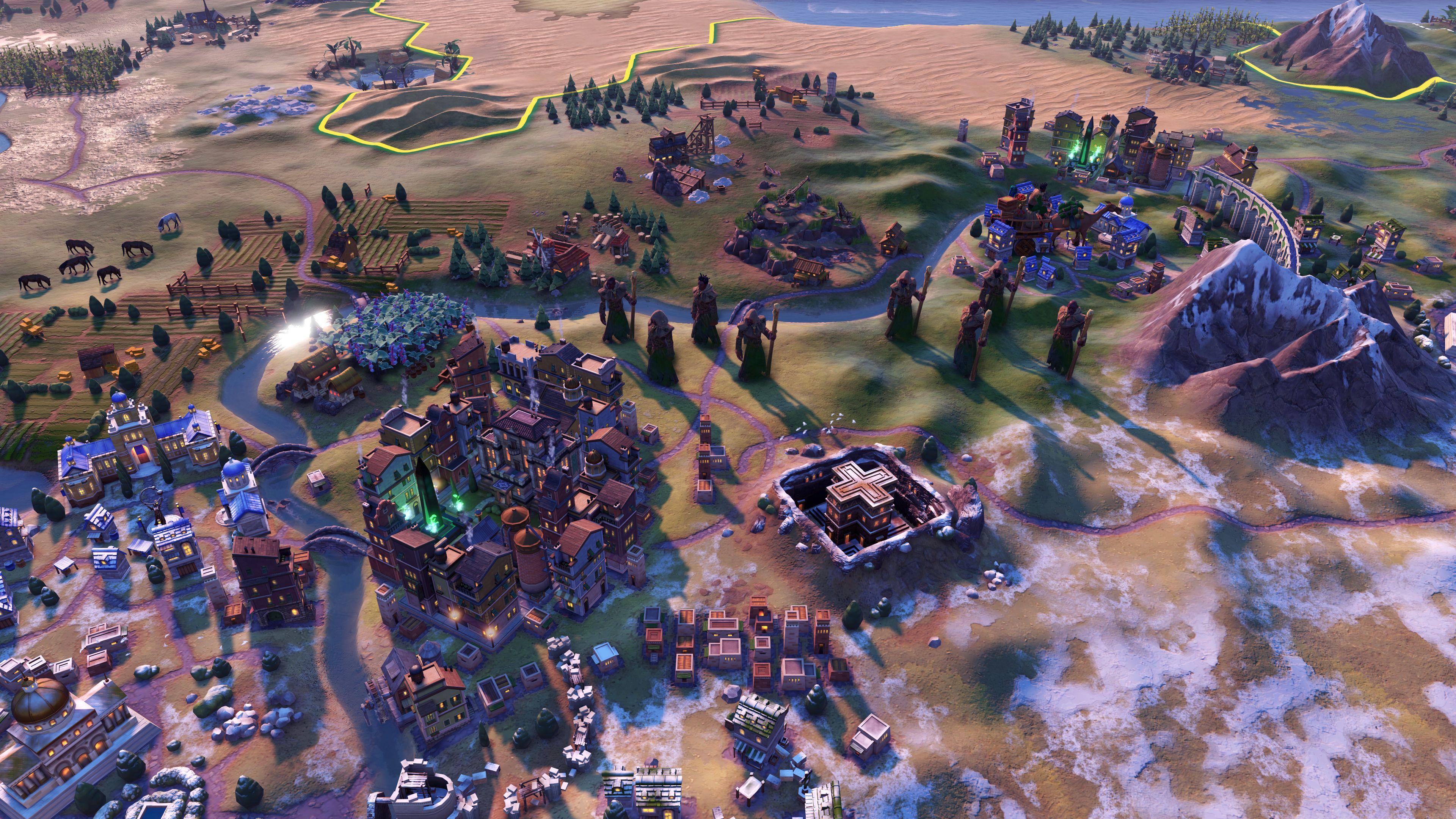 Скриншот №1 к Sid Meiers Civilization VI Anthology