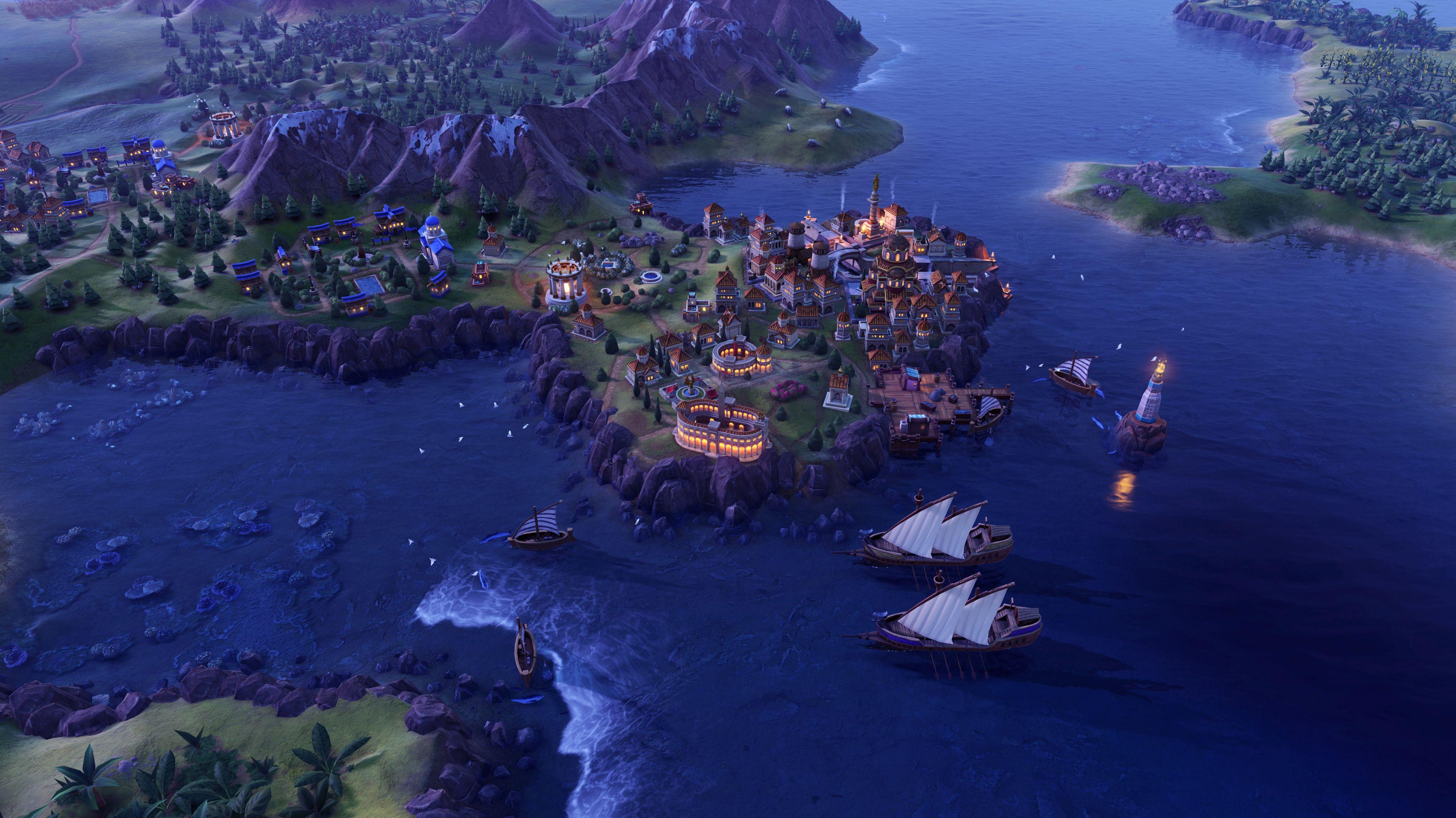 Скриншот №2 к Sid Meiers Civilization VI Anthology