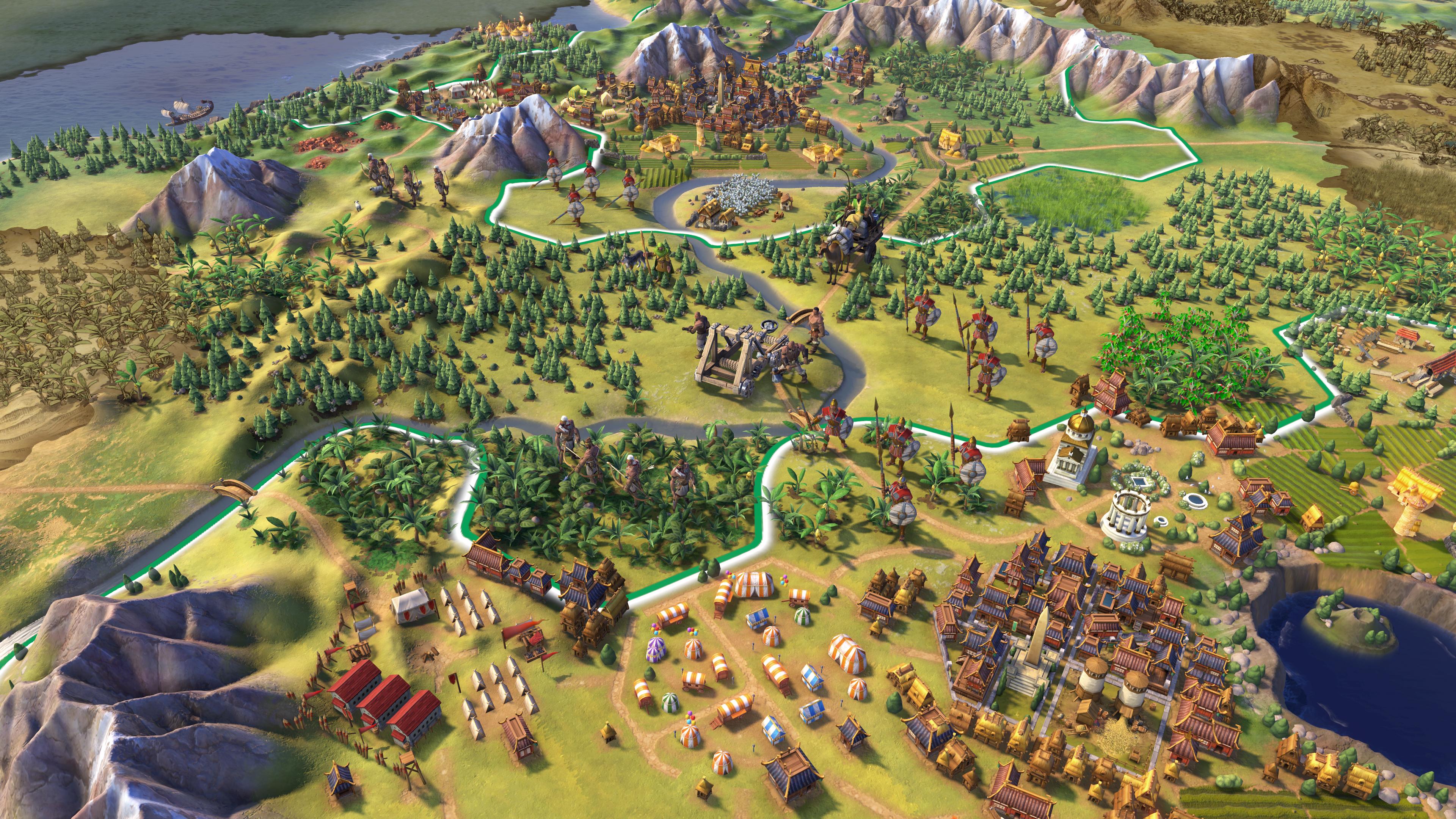 Скриншот №1 к Sid Meiers Civilization VI Platinum Edition