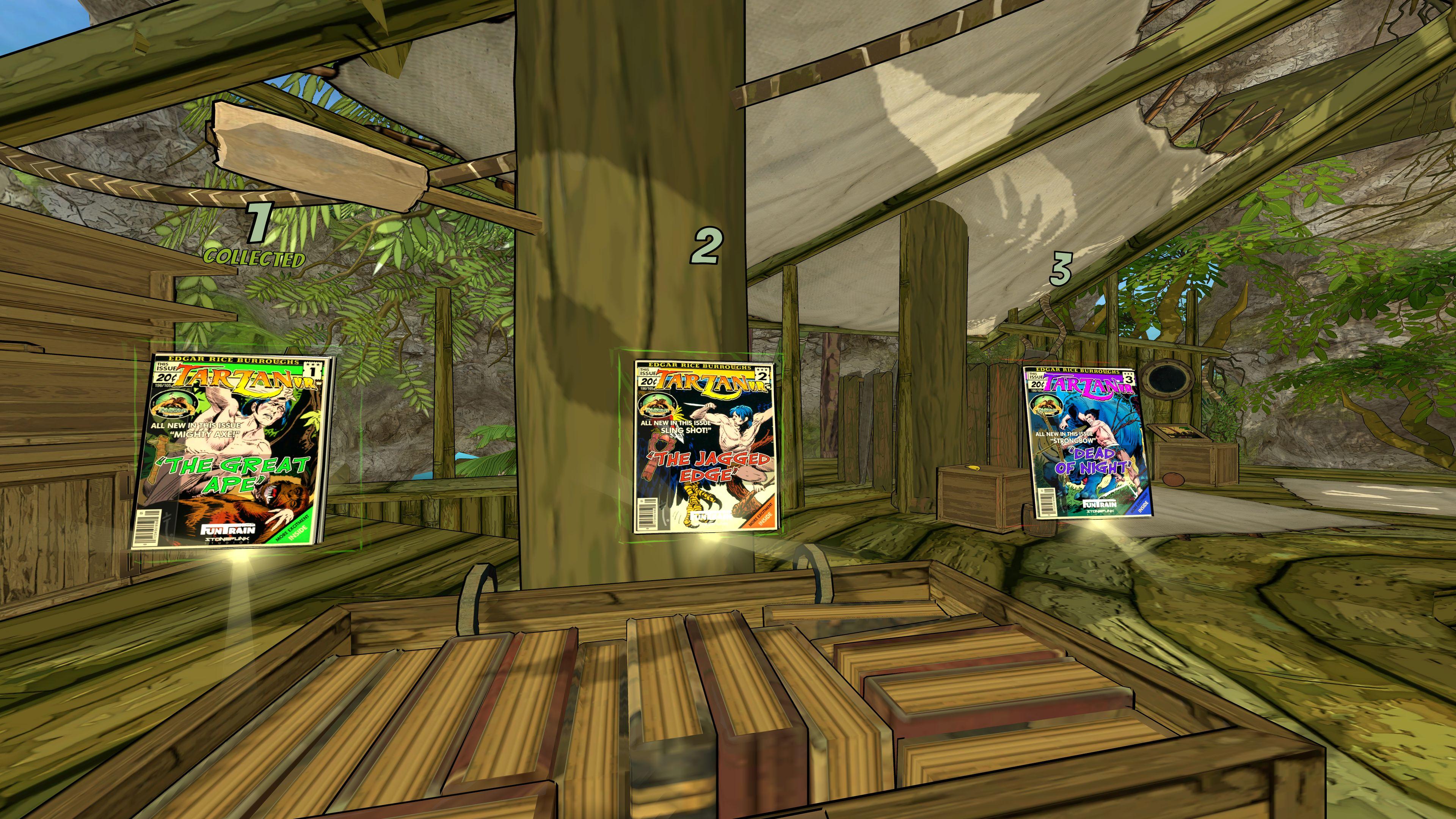 Скриншот №2 к TARZAN VR