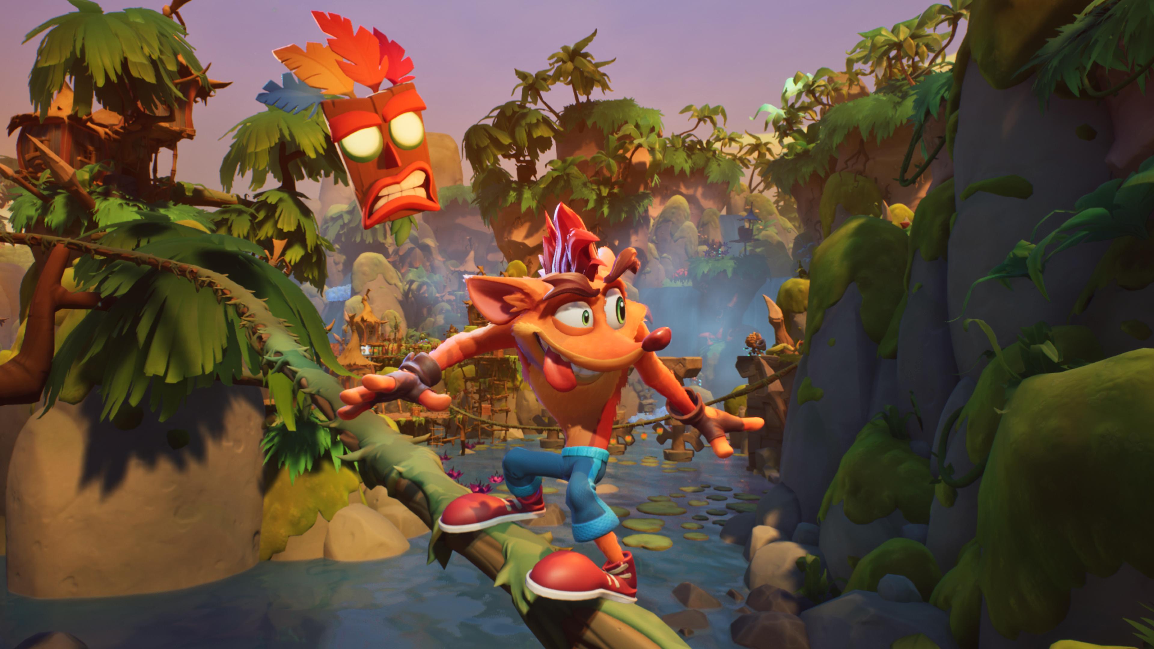 Скриншот №2 к Crash Bandicoot - набор Quadrilogy