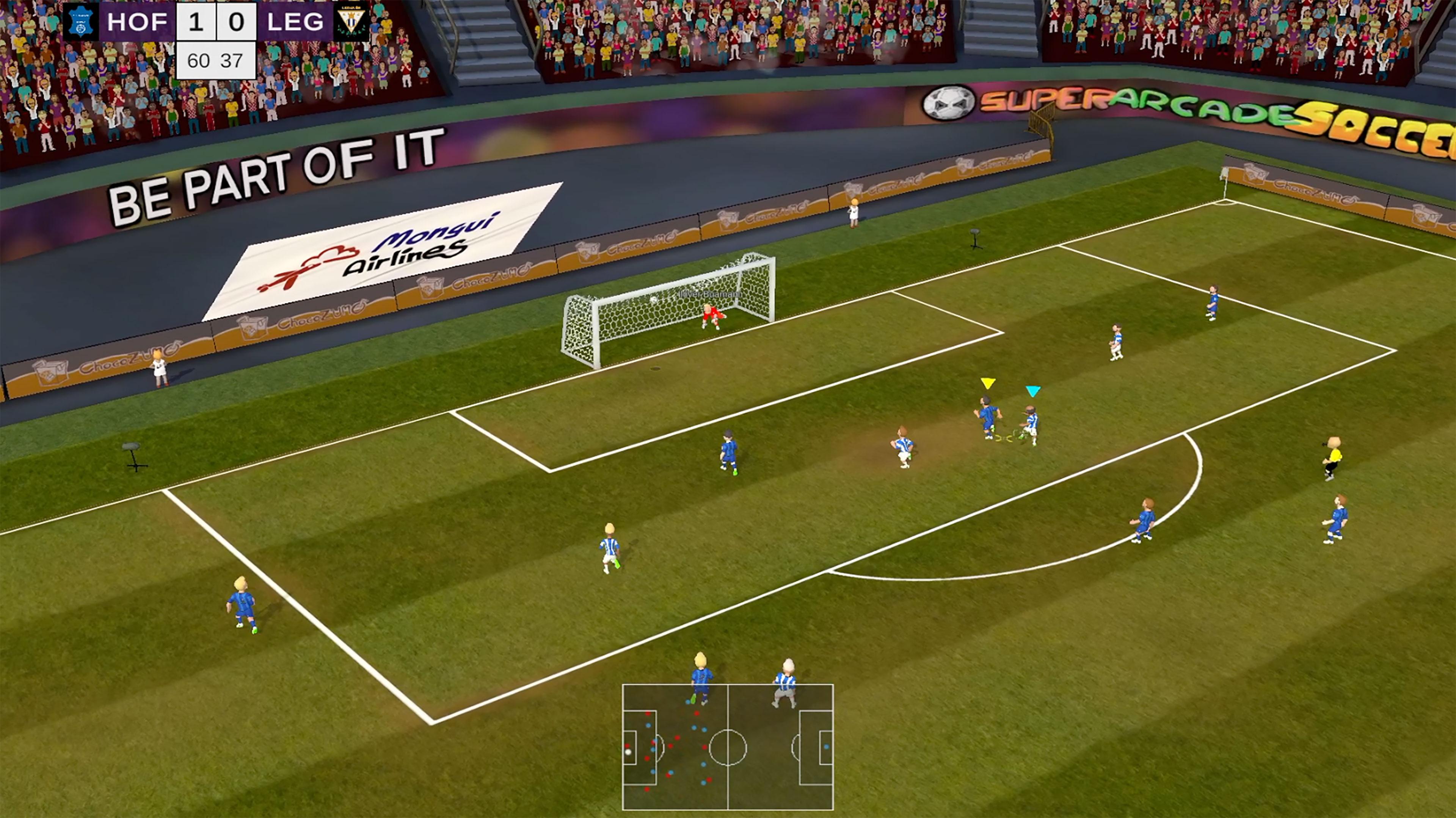 Скриншот №8 к Super Arcade Soccer 2021