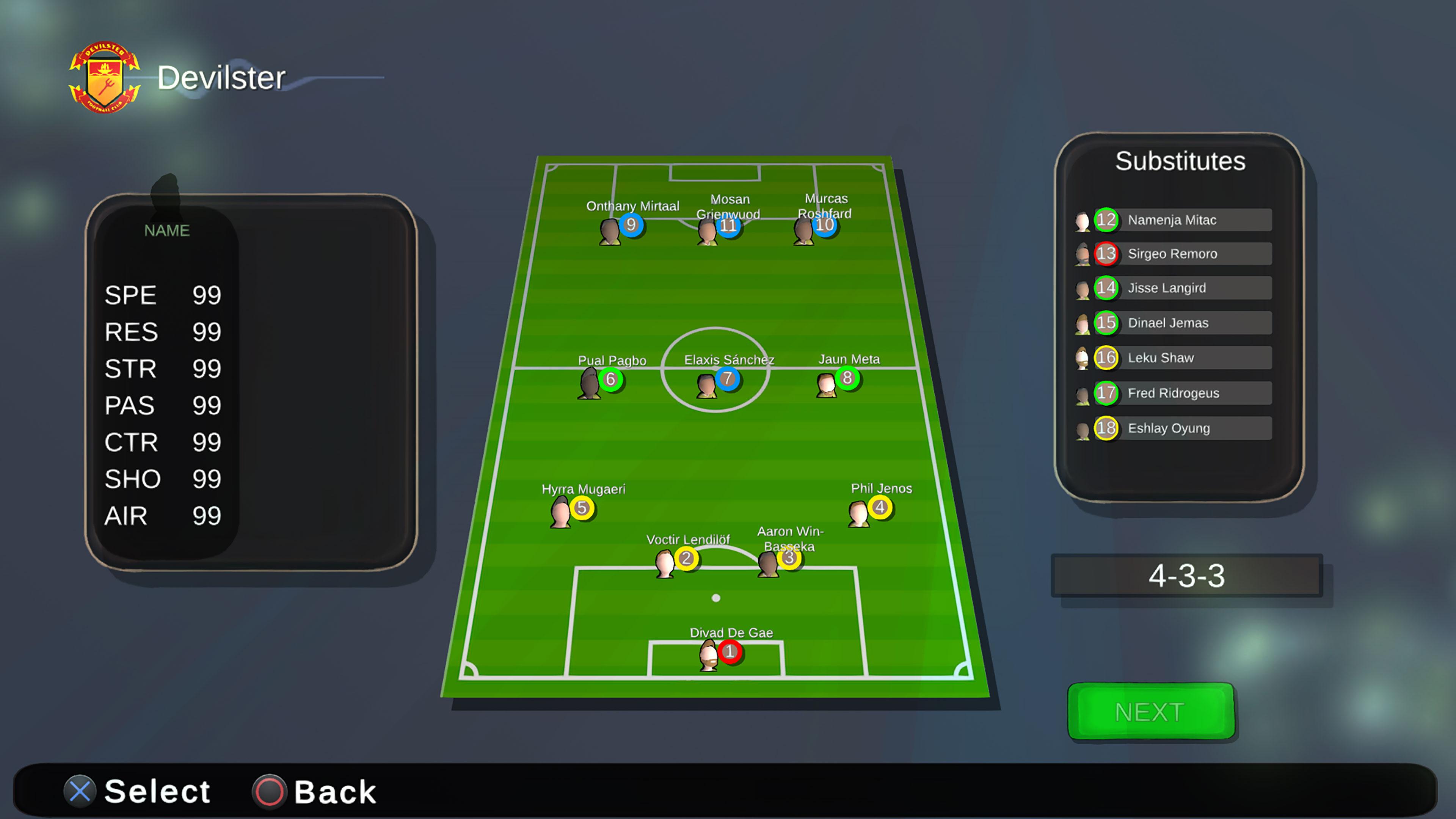 Скриншот №7 к Super Arcade Soccer 2021