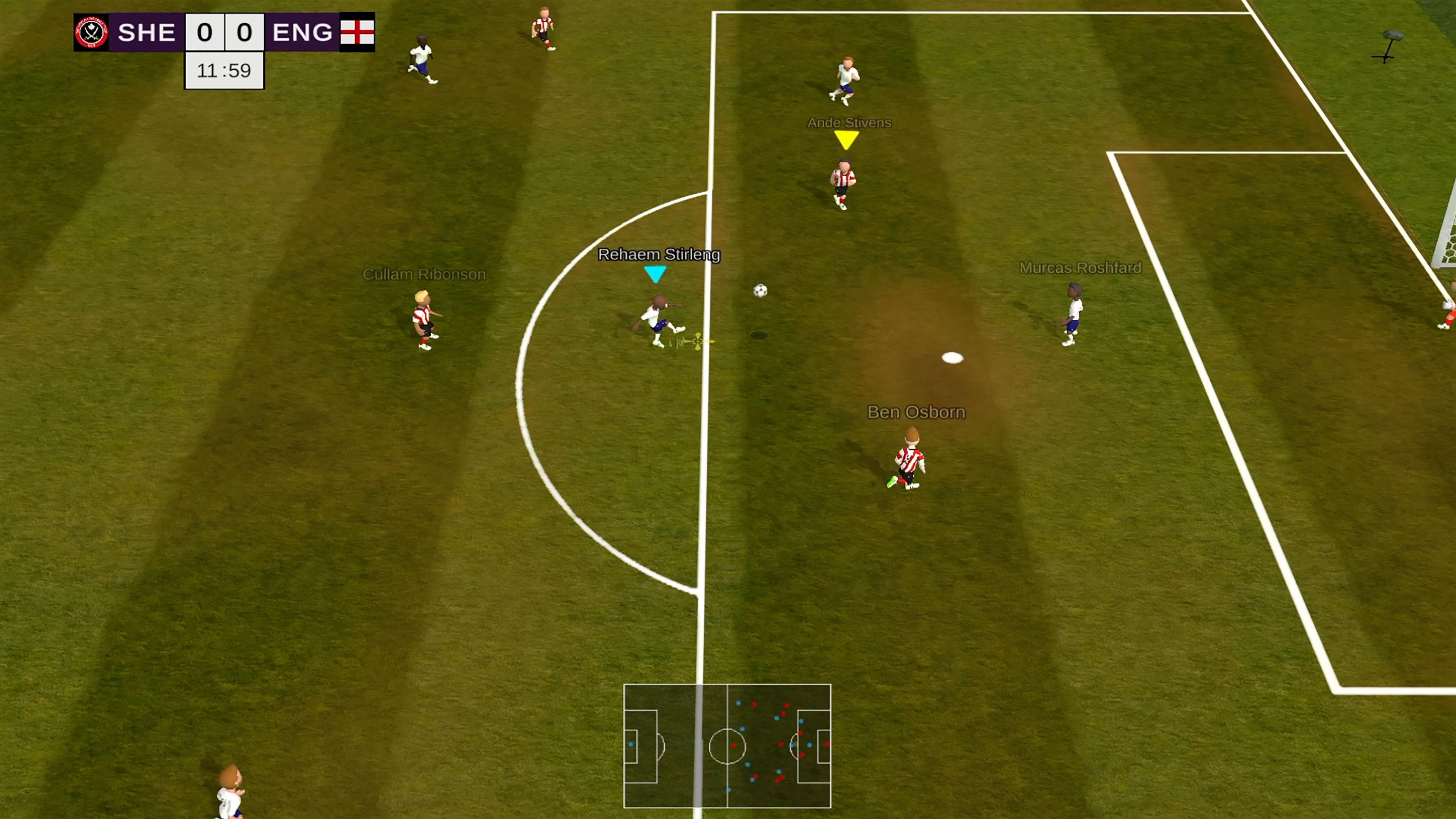 Скриншот №4 к Super Arcade Soccer 2021
