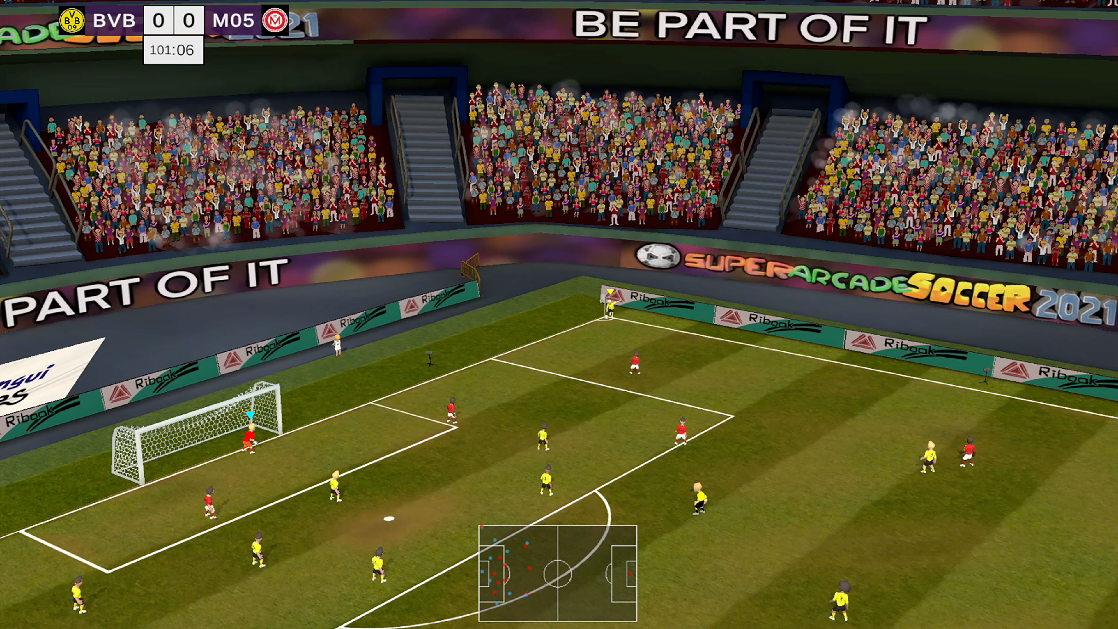 Скриншот №9 к Super Arcade Soccer 2021