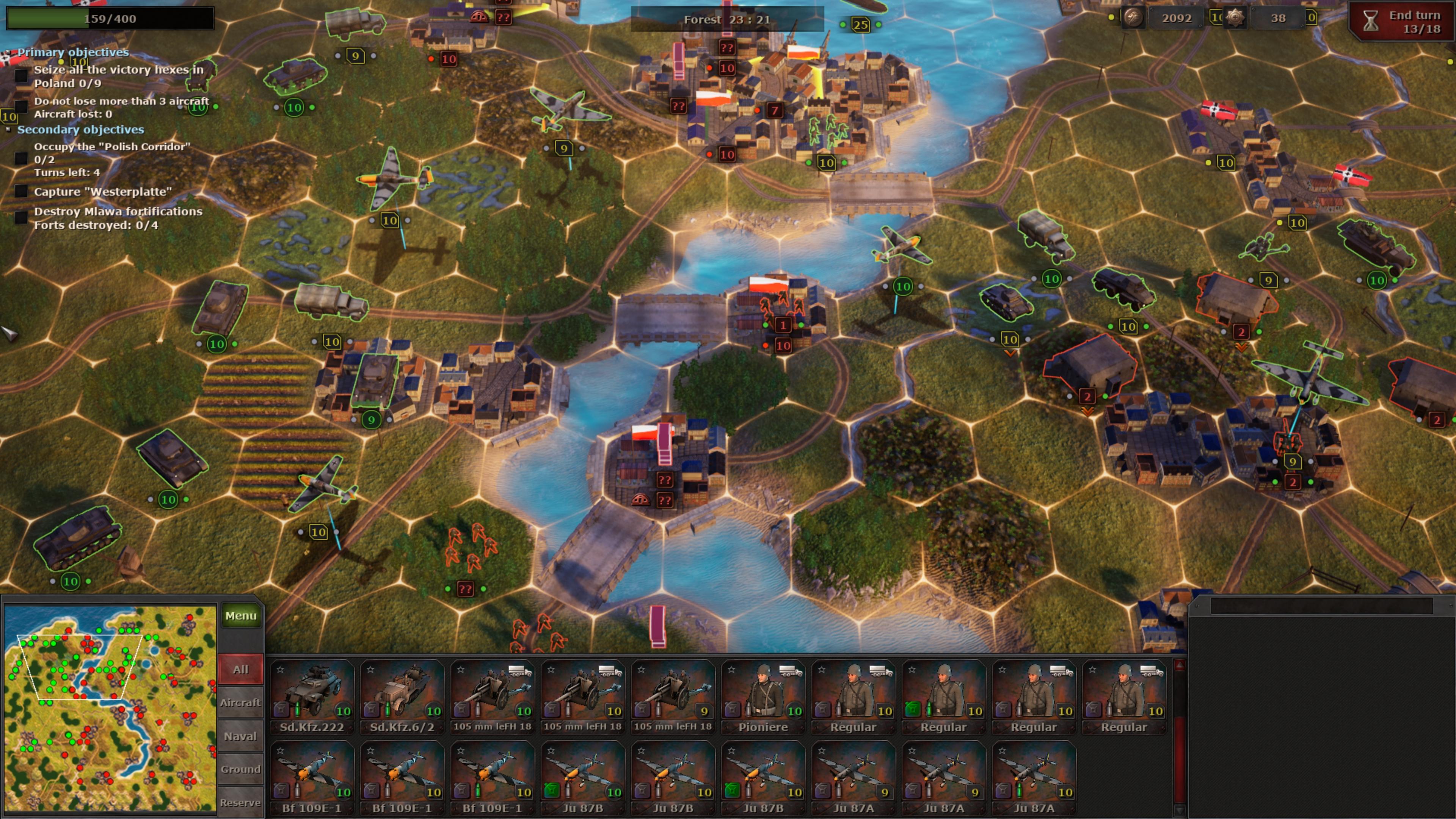 Скриншот №6 к Strategic Mind Blitzkrieg