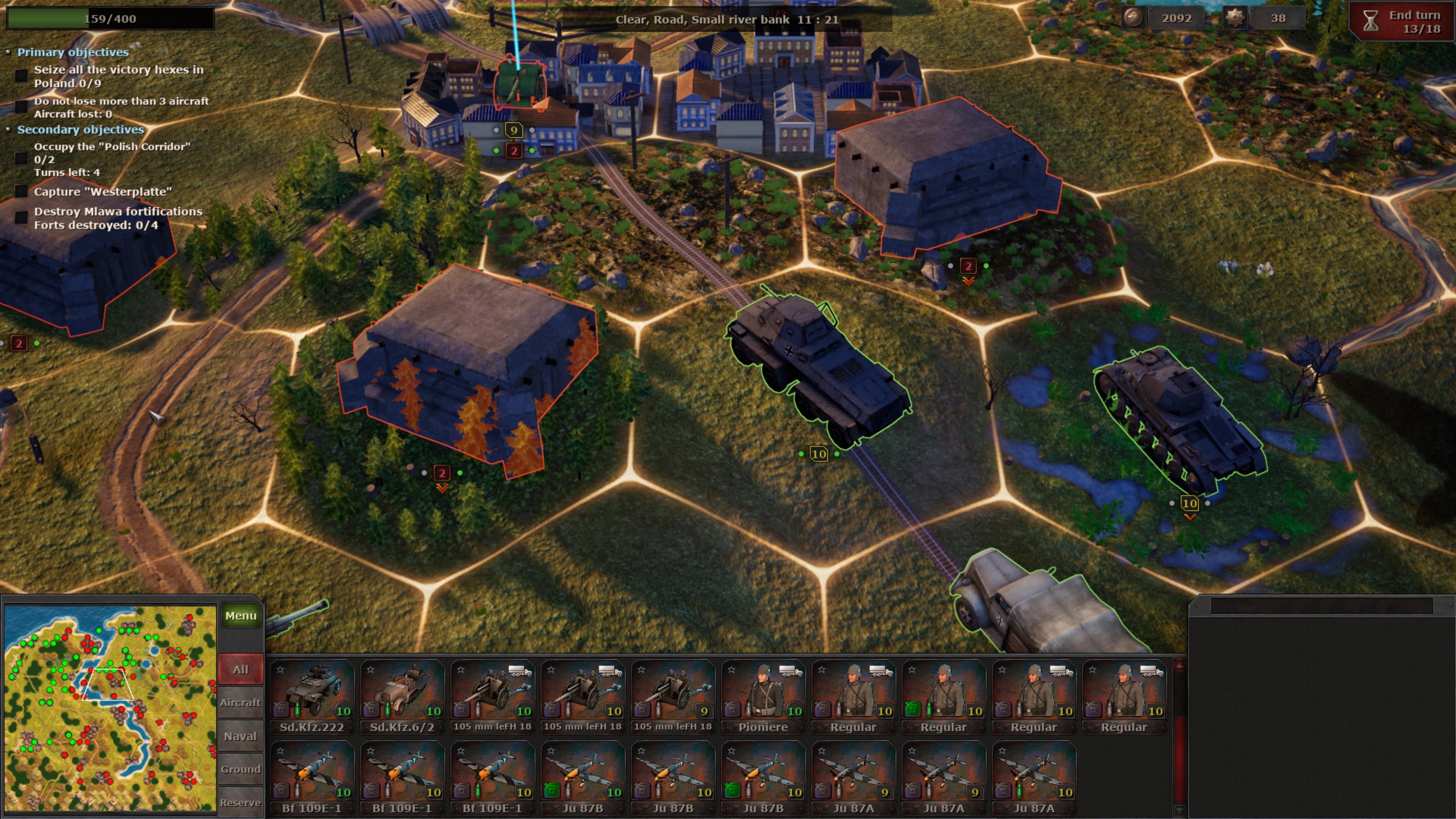 Скриншот №2 к Strategic Mind Blitzkrieg