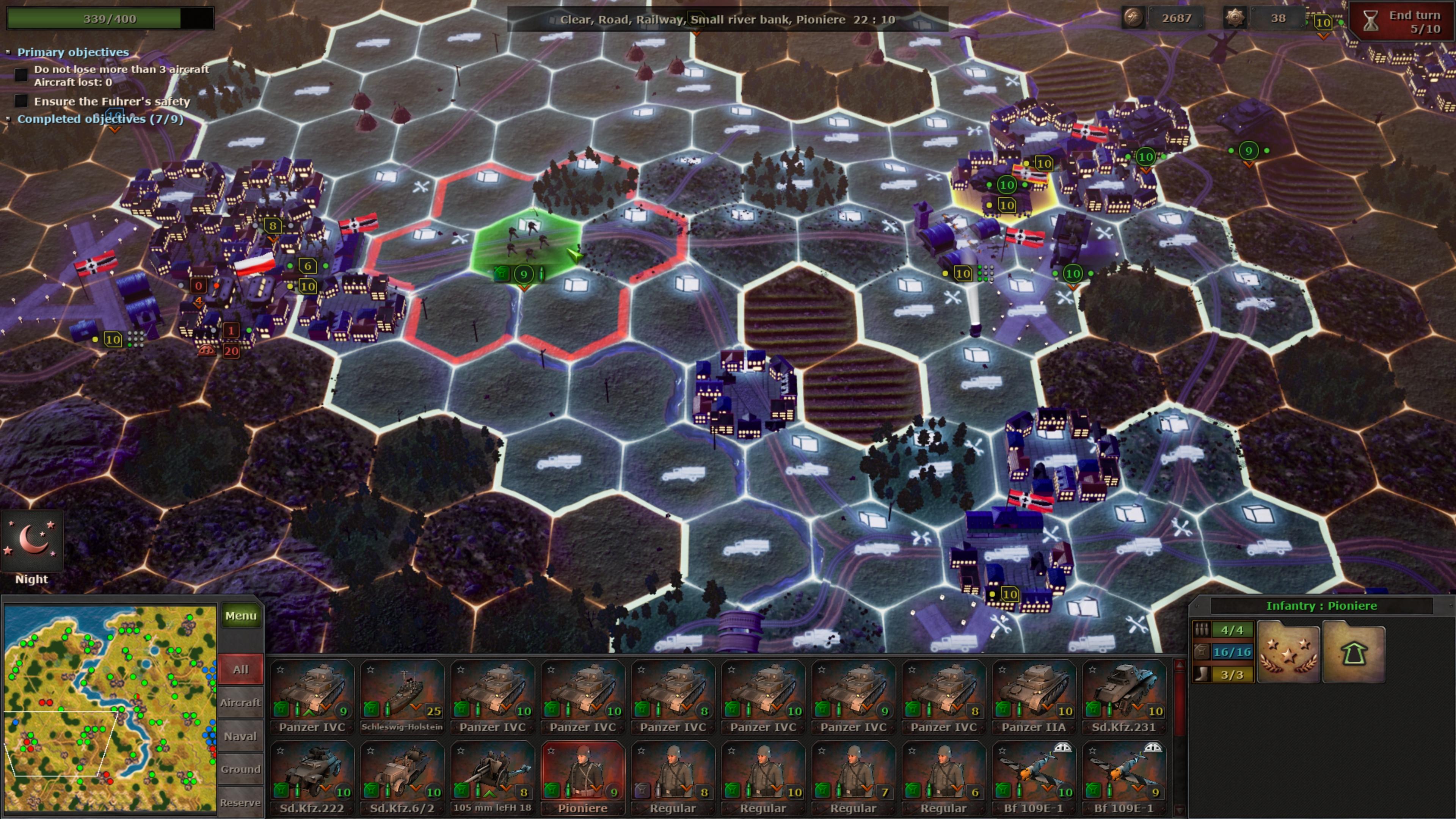 Скриншот №9 к Strategic Mind Blitzkrieg