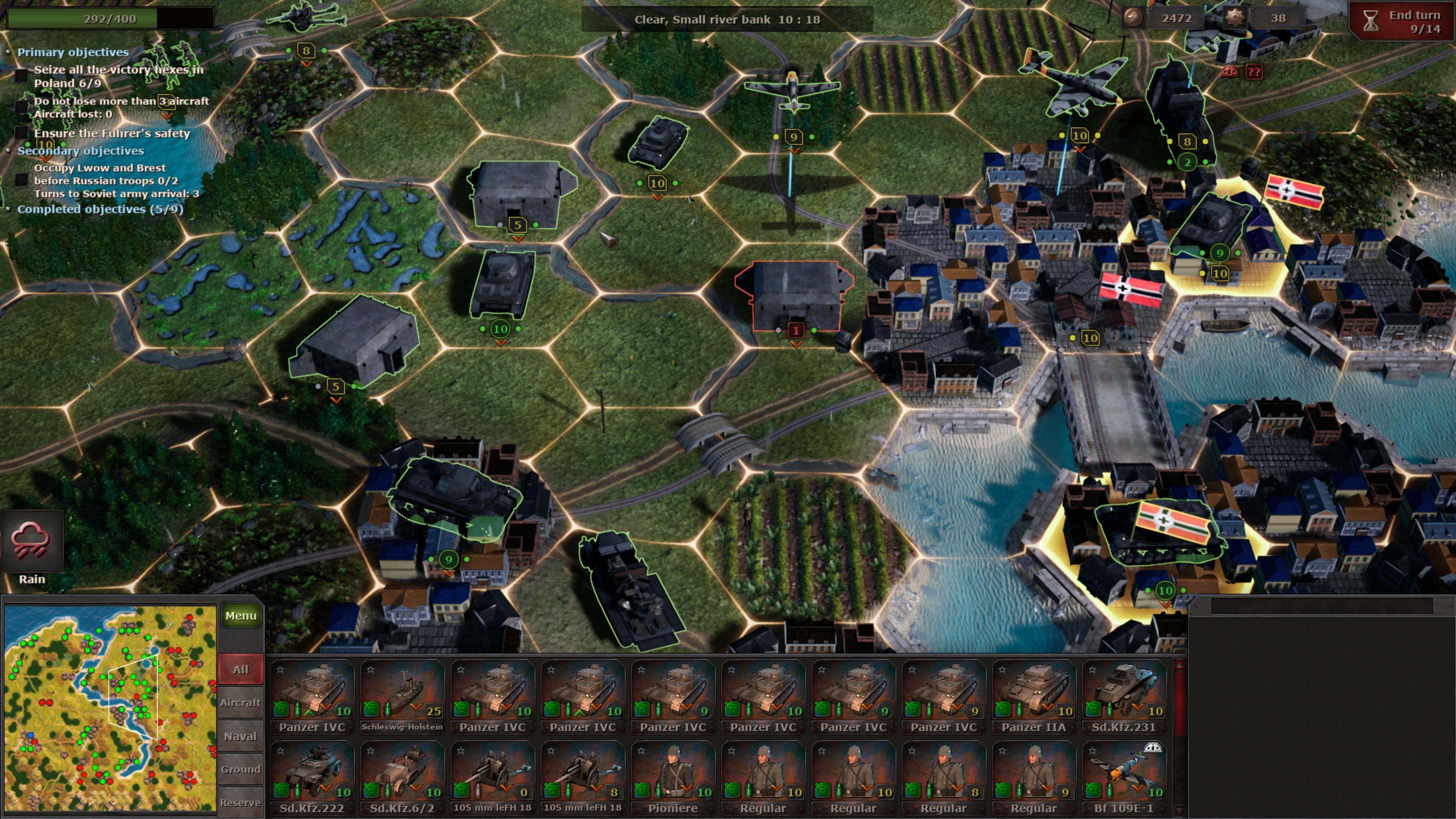 Скриншот №8 к Strategic Mind Blitzkrieg
