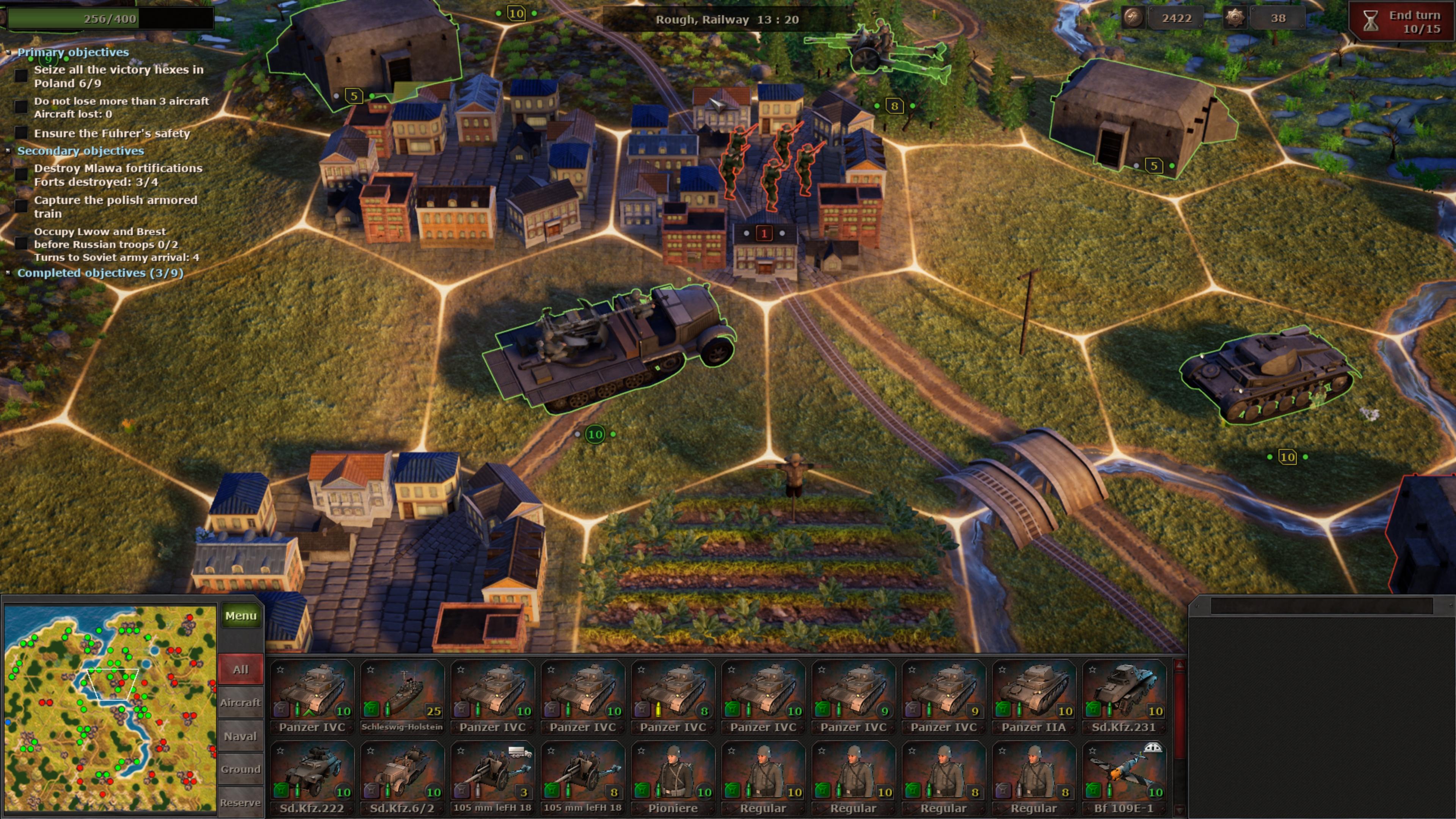 Скриншот №4 к Strategic Mind Blitzkrieg