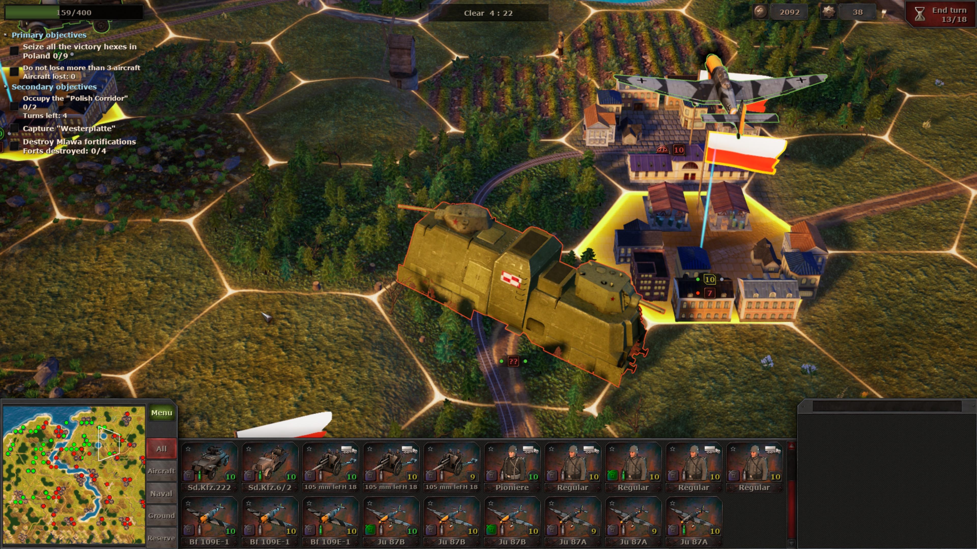Скриншот №5 к Strategic Mind Blitzkrieg