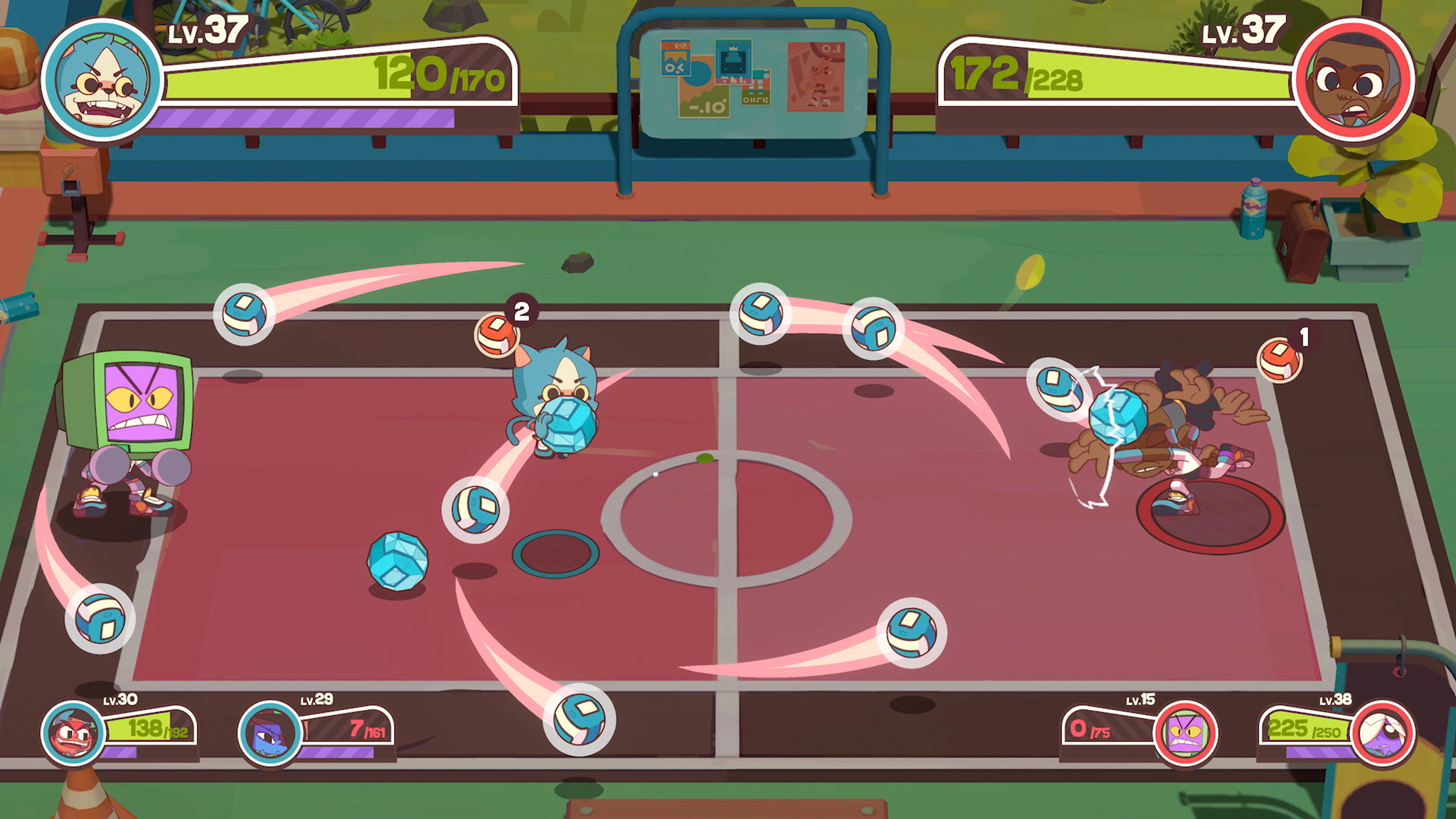 Скриншот №2 к Dodgeball Academia