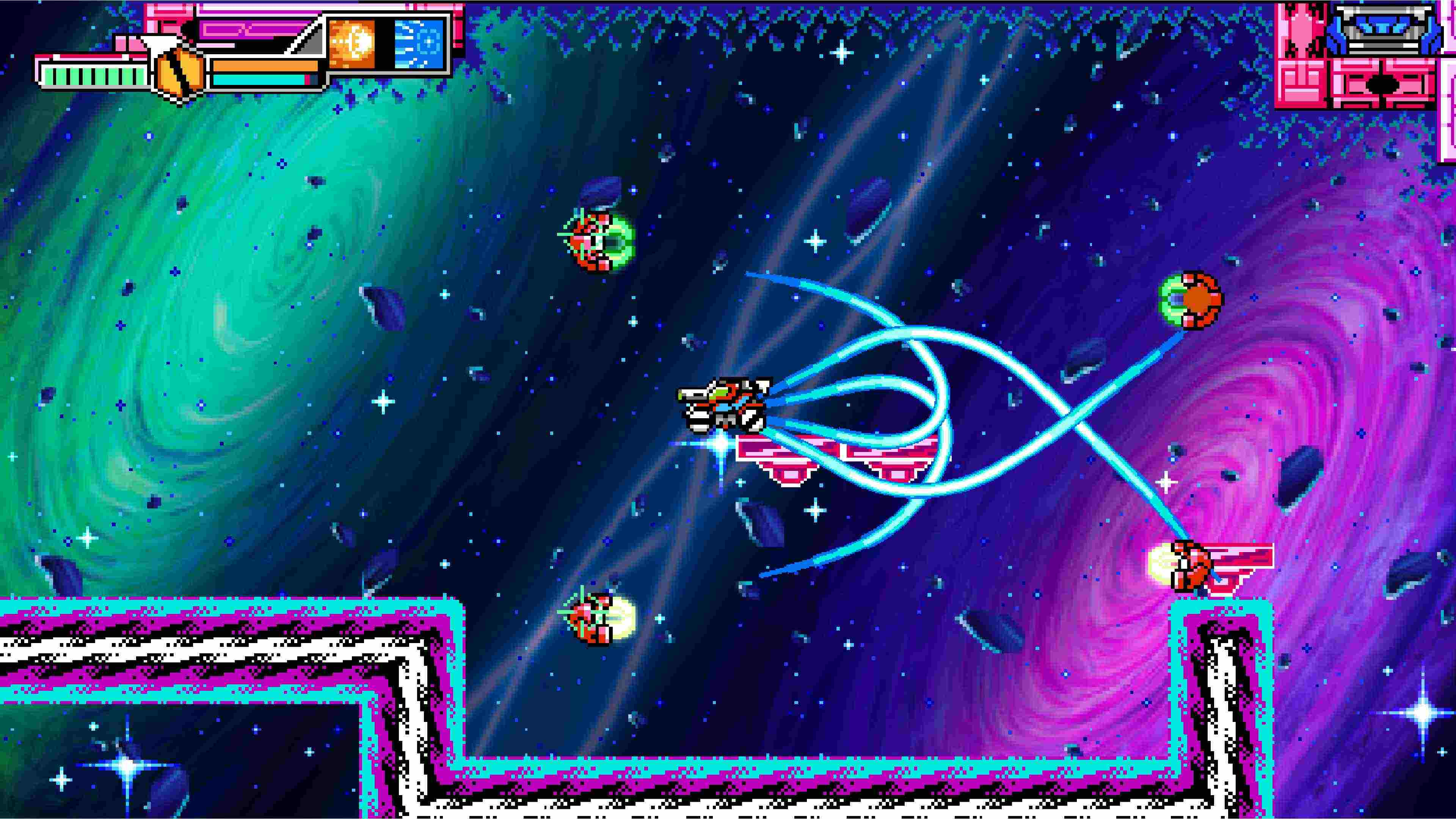 Скриншот №3 к Blaster Master Zero 3