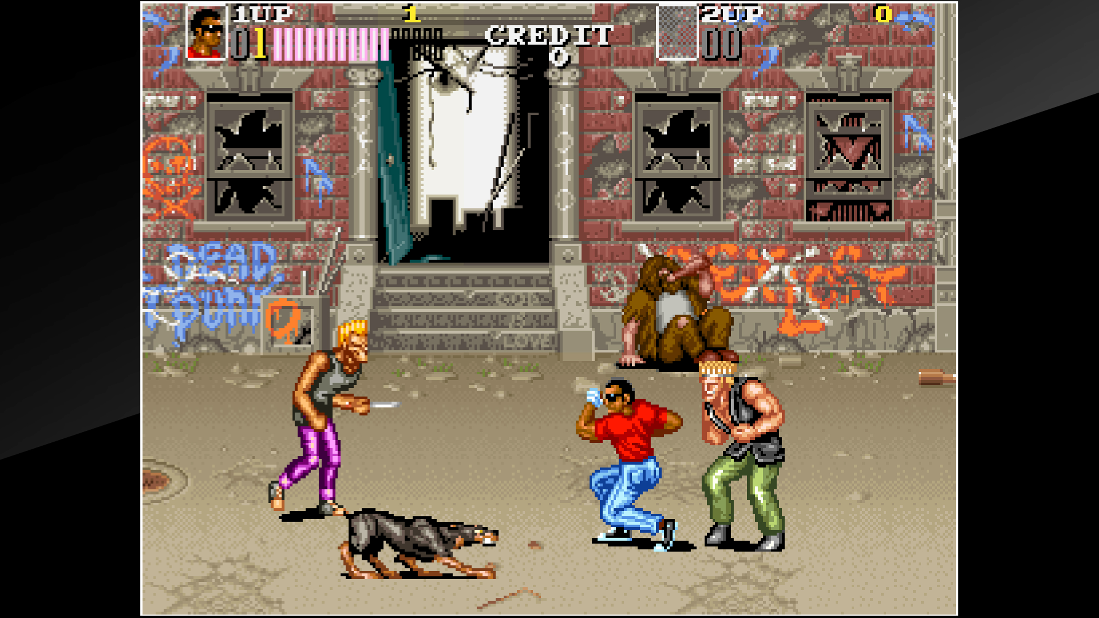 Скриншот №9 к Arcade Archives VENDETTA